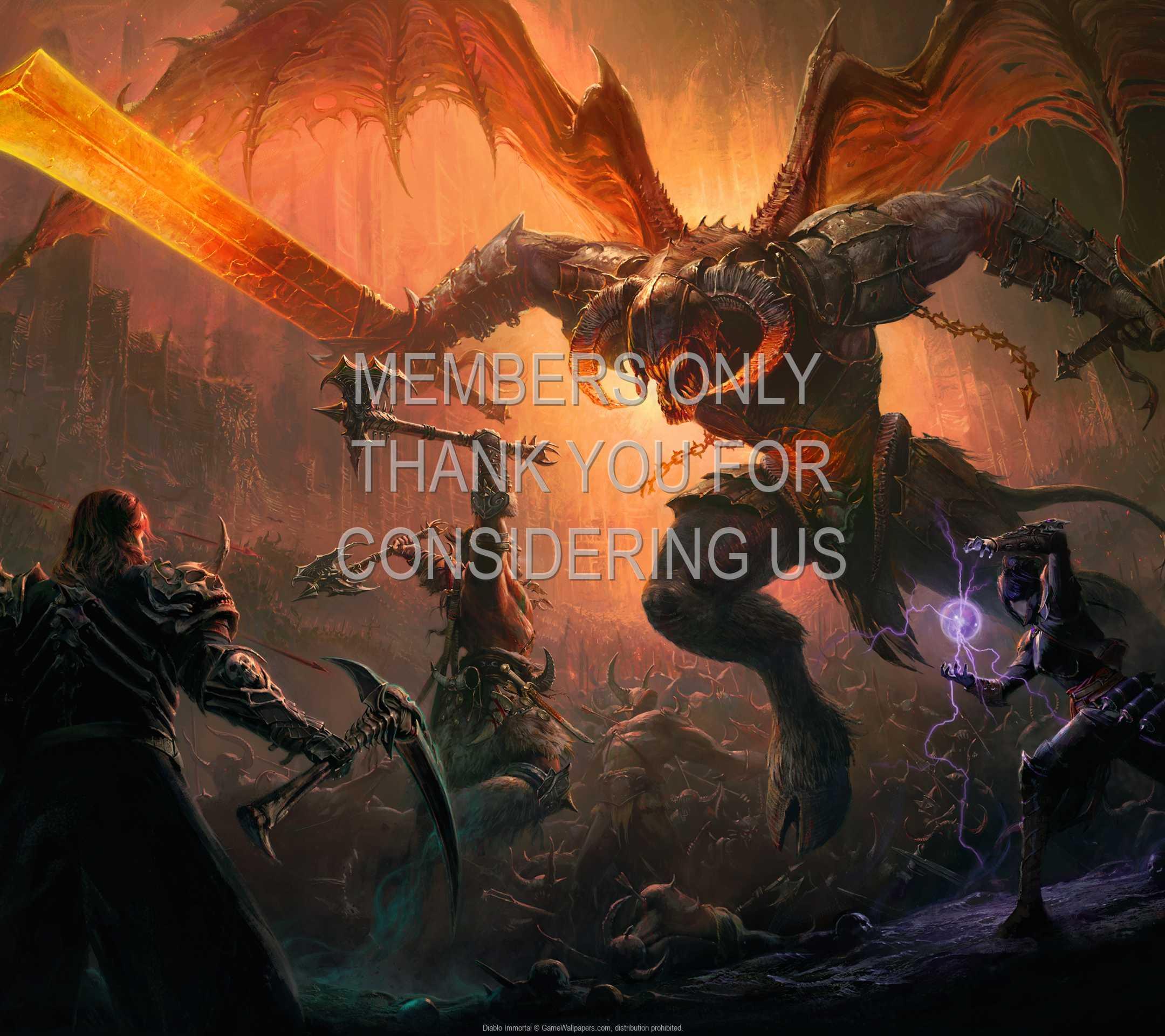Diablo Immortal 1080p Horizontal Mobiele achtergrond 07