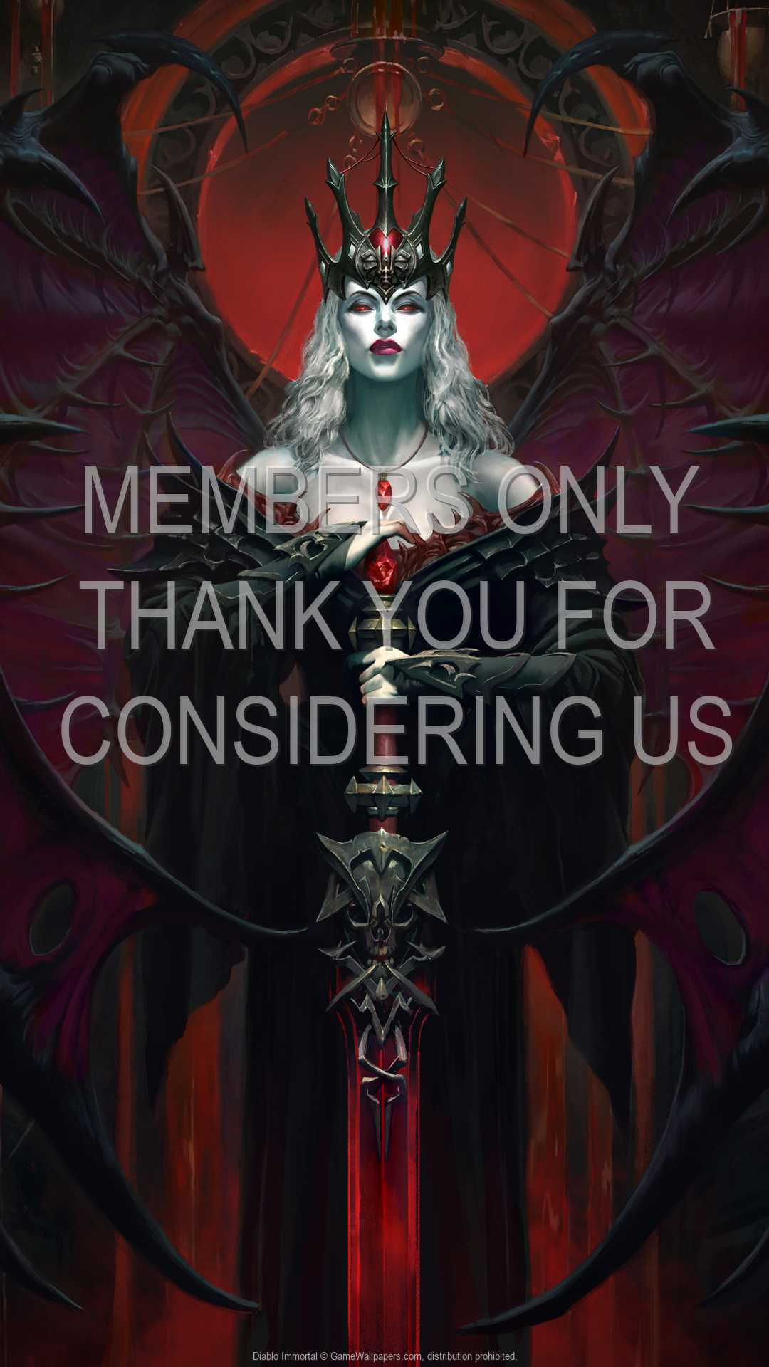 Diablo Immortal 1080p Vertical Handy Hintergrundbild 11