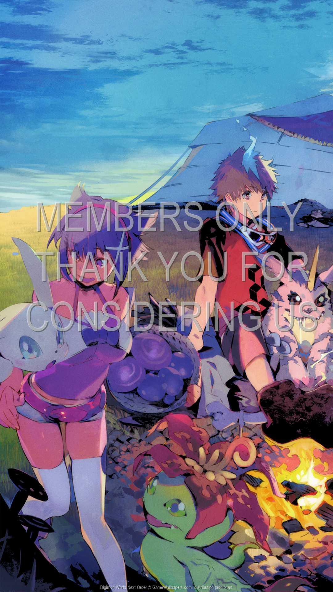 Digimon World: Next Order 1080p Vertical Mobiele achtergrond 01