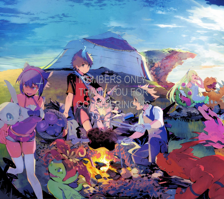 Digimon World: Next Order 1440p Horizontal Mobiele achtergrond 01