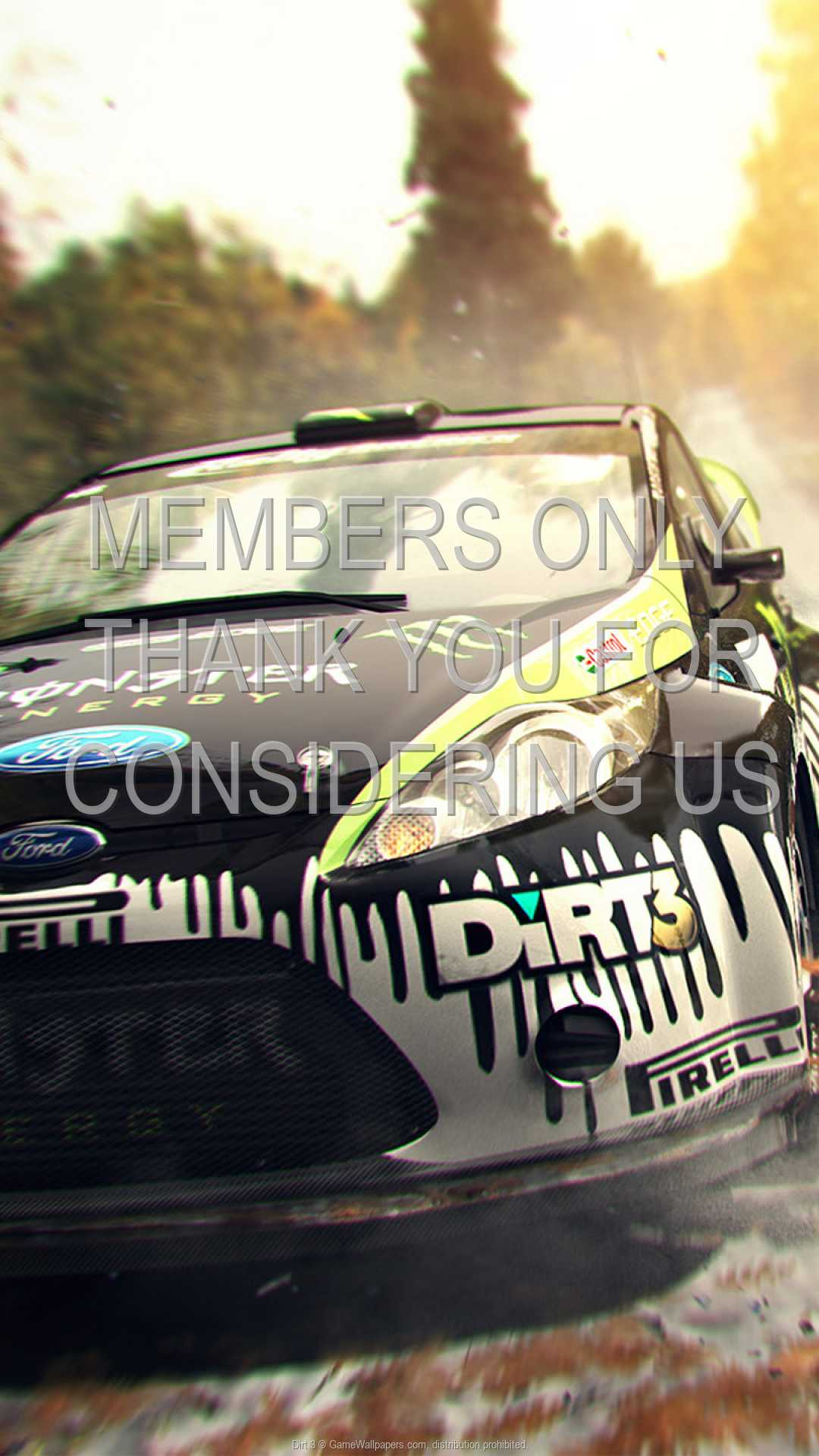 Dirt 3 1080p Vertical Mobile wallpaper or background 02