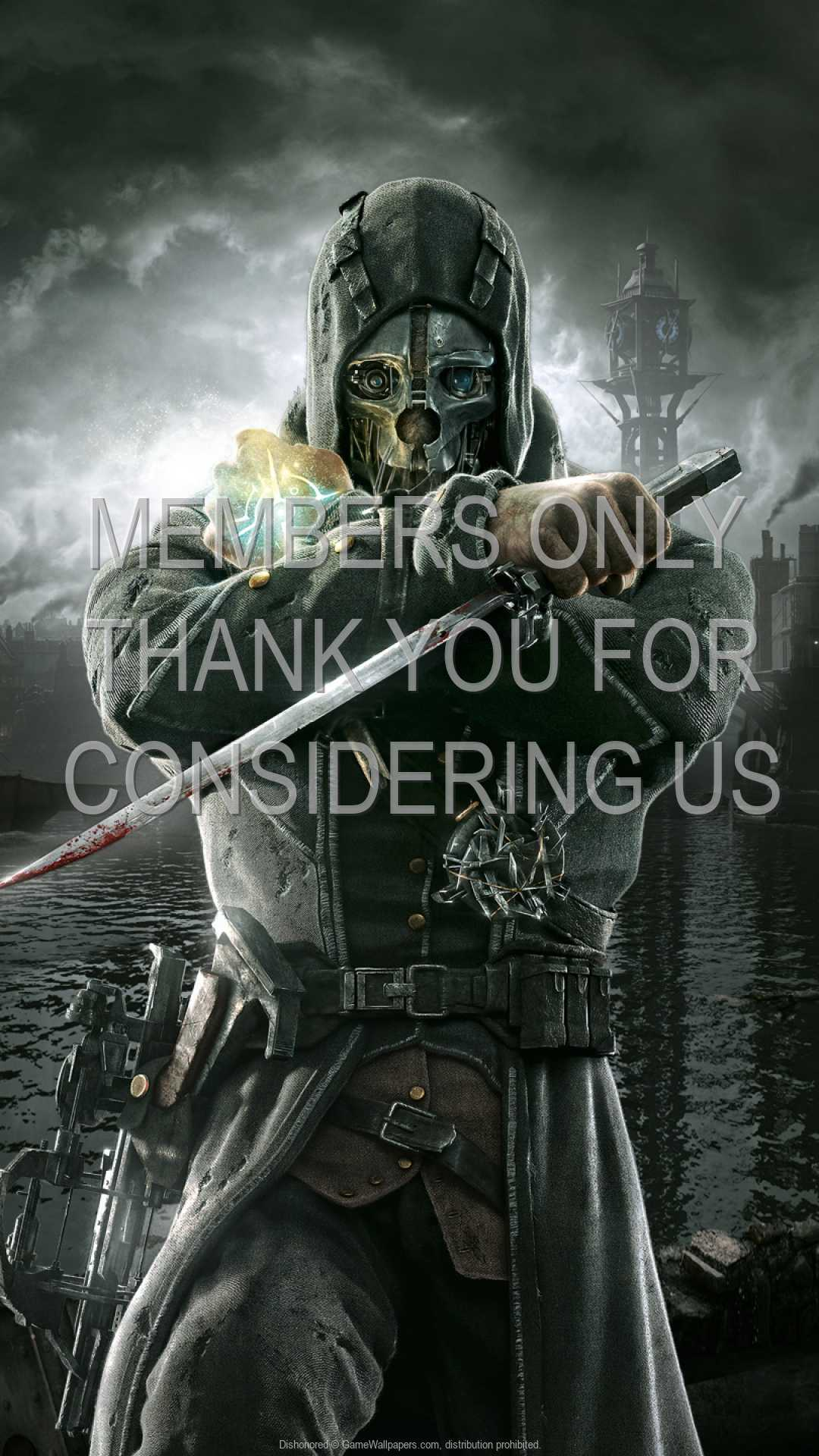 Dishonored Wallpaper 03 1080p Vertical