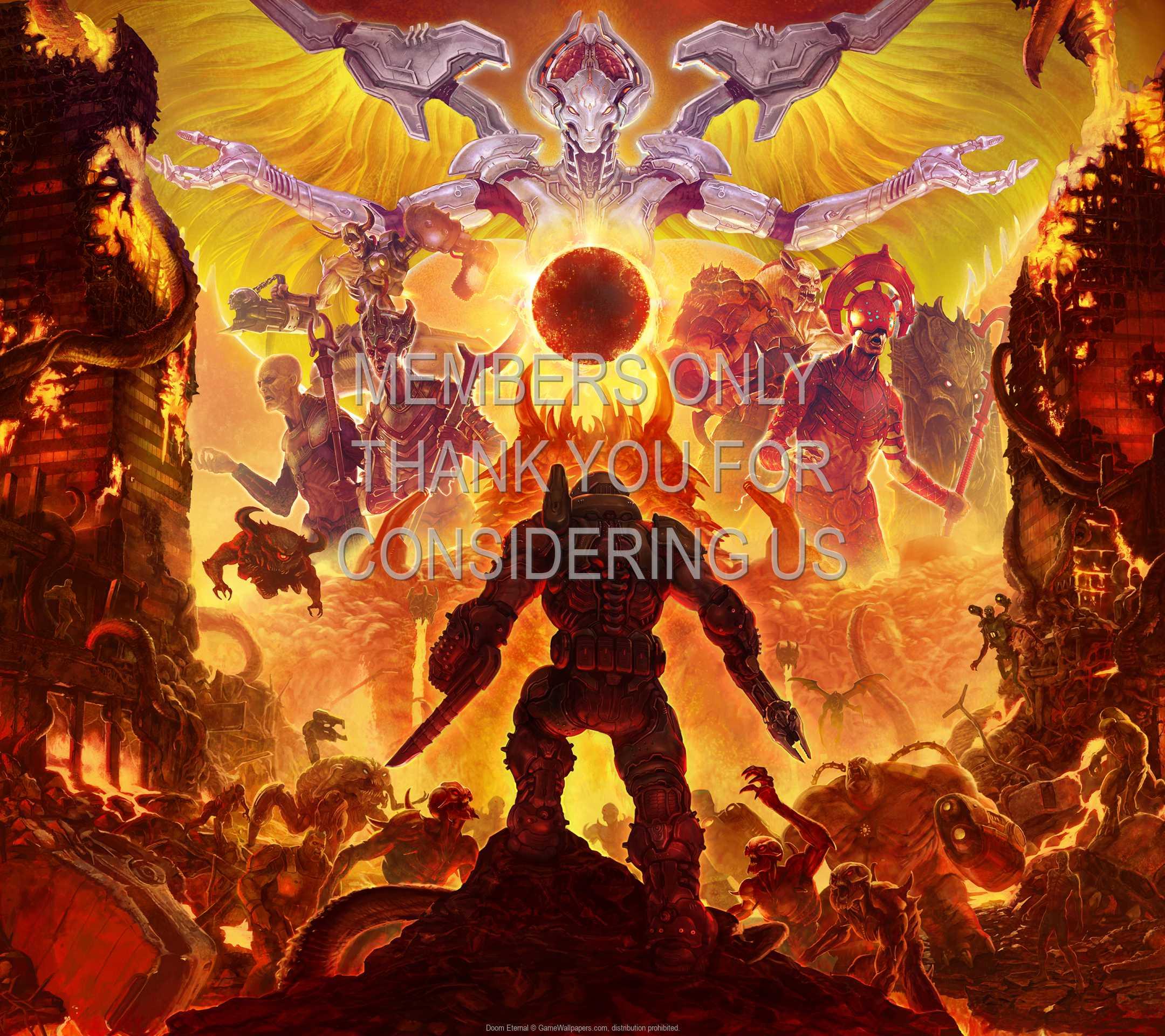 Doom Eternal 1080p Horizontal Mobile wallpaper or background 05