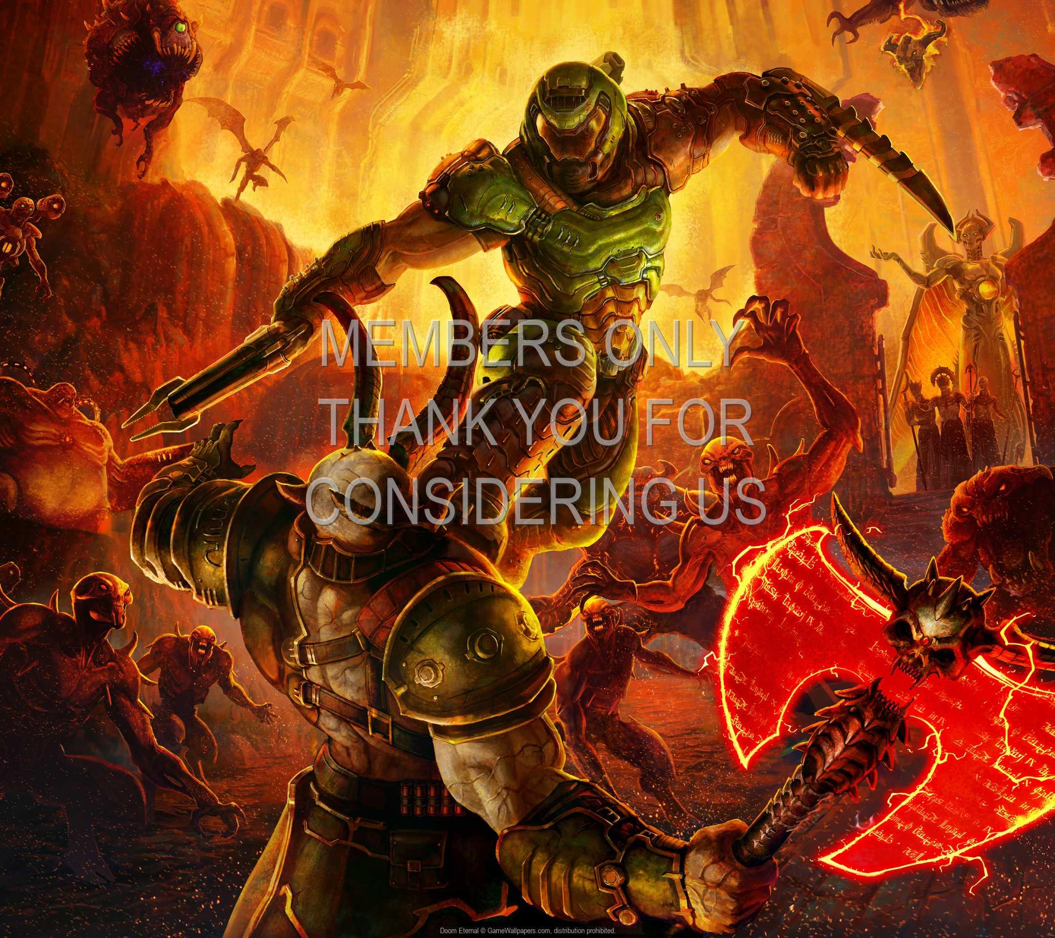 Doom Eternal 1080p Horizontal Handy Hintergrundbild 06