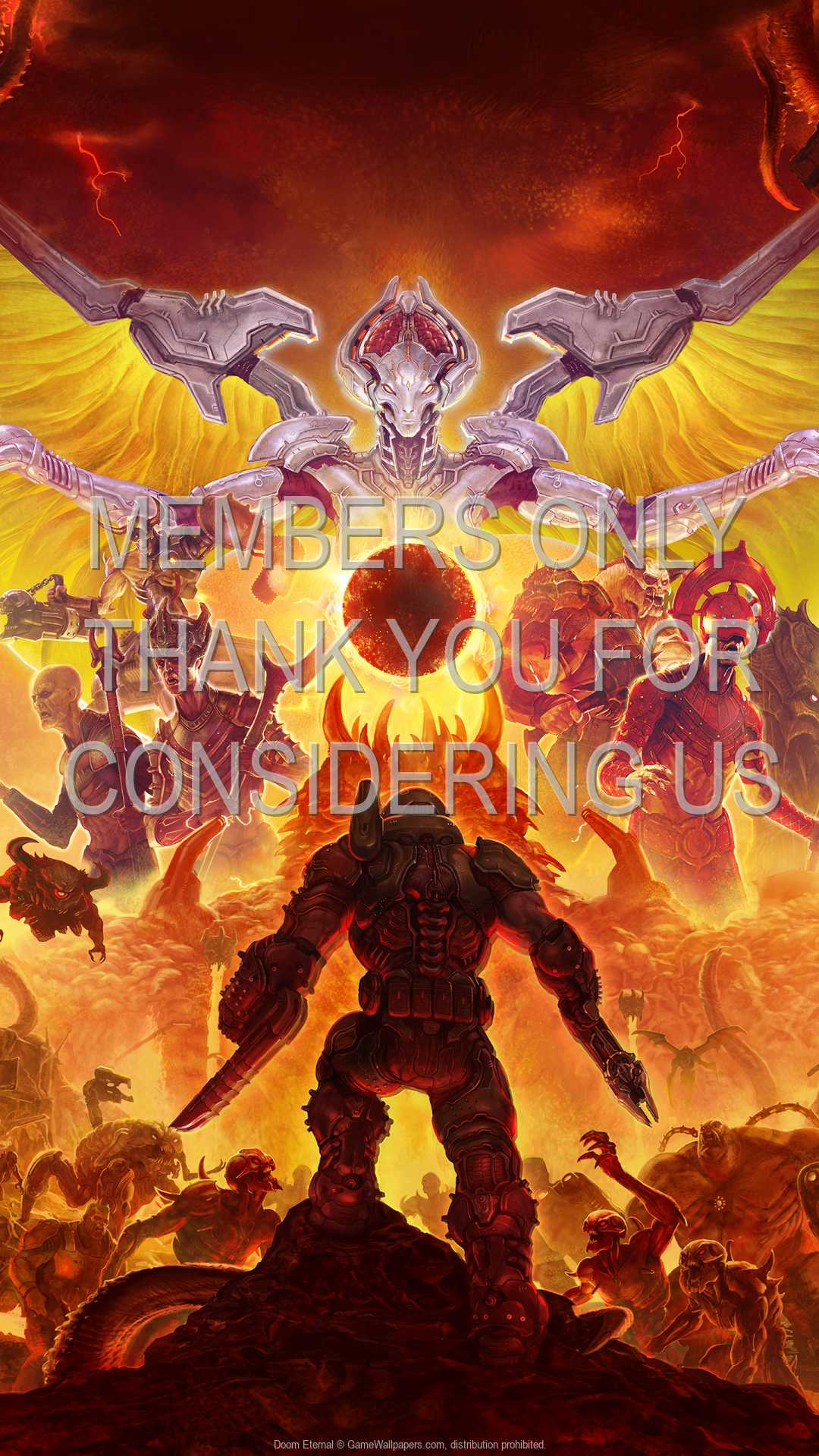 Doom Eternal 1080p Vertical Mobile wallpaper or background 08