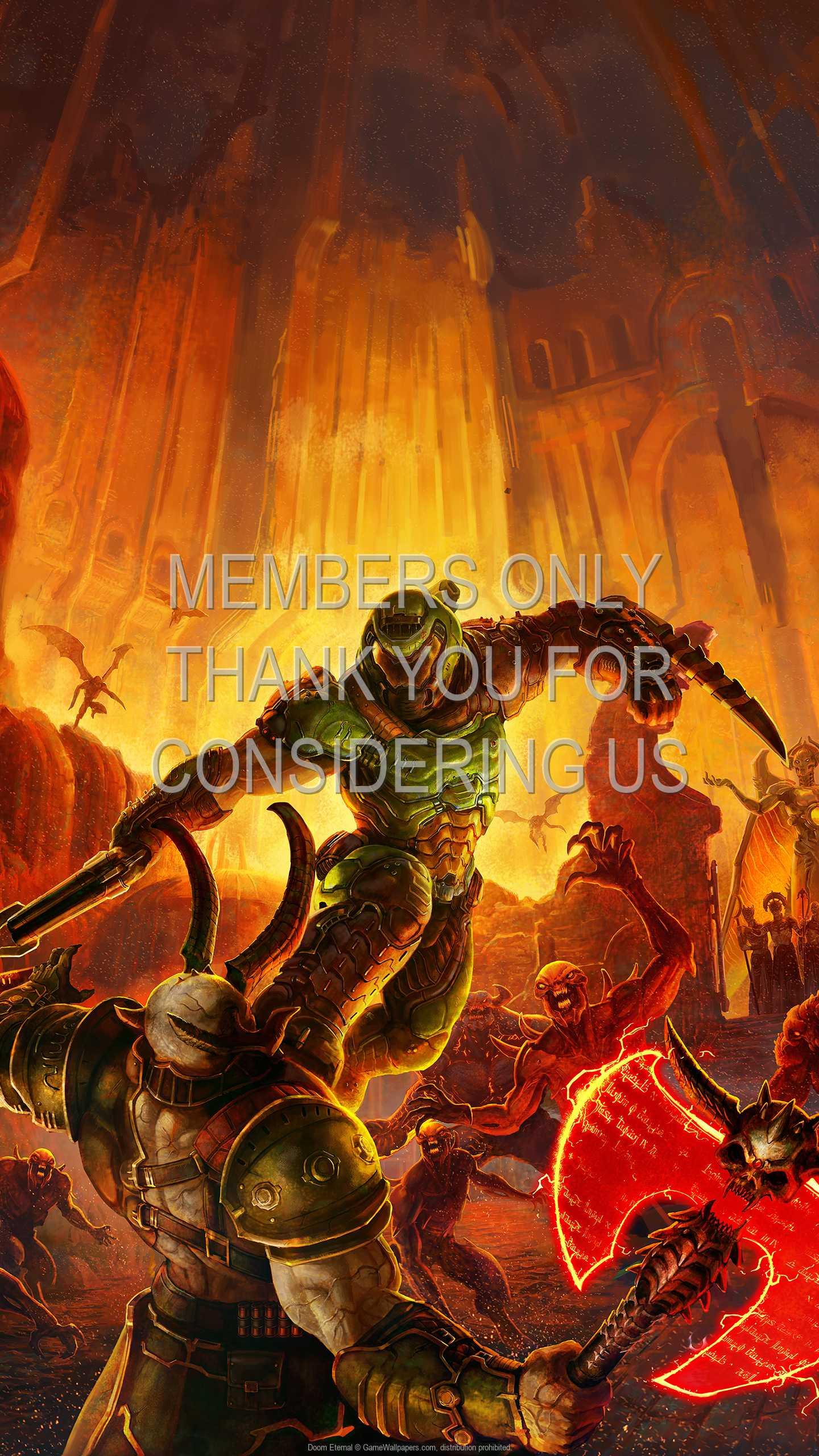 Doom Eternal 1440p Vertical Handy Hintergrundbild 09