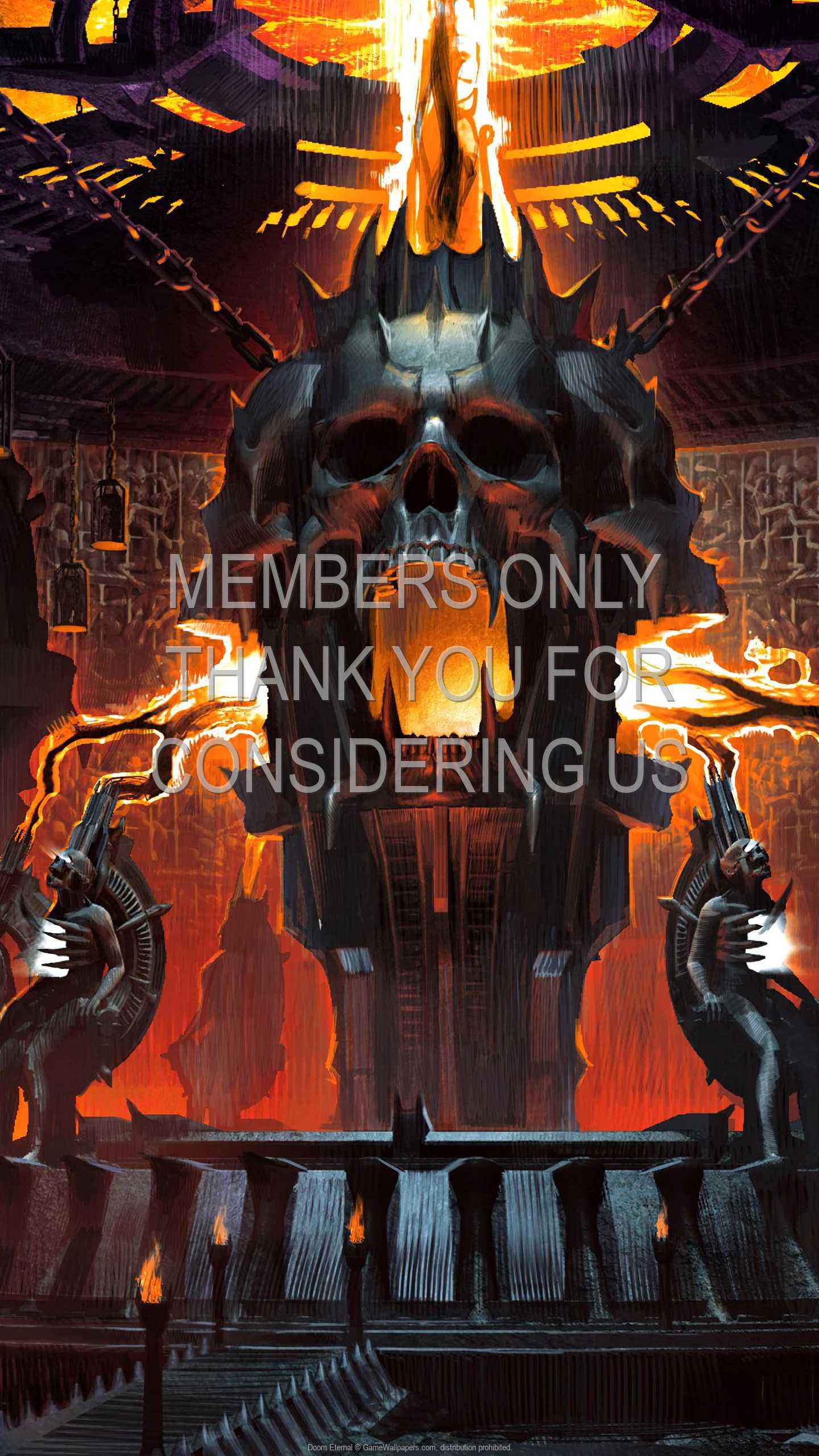Doom Eternal 1440p Vertical Mobile fond d'écran 16