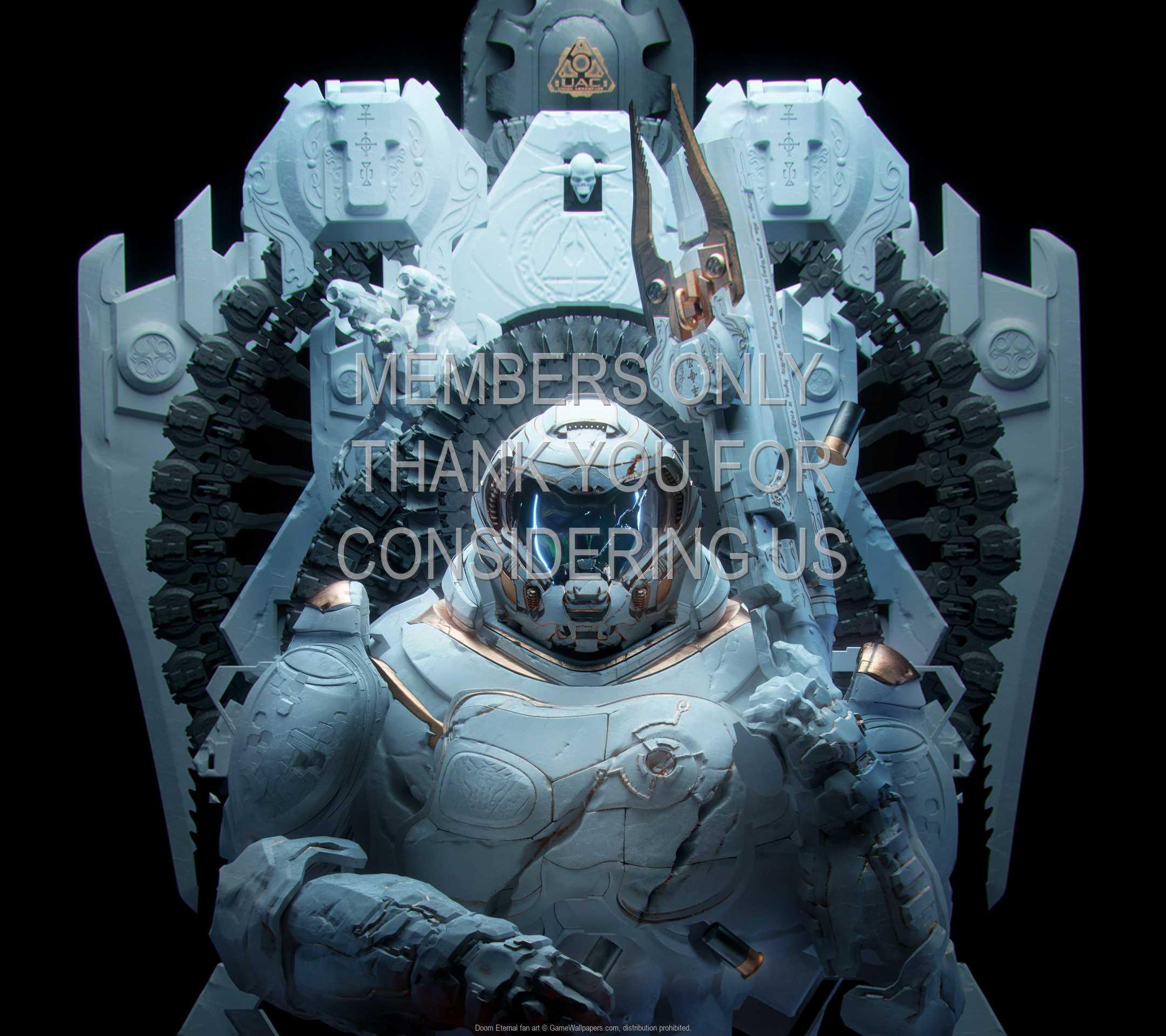 Doom Eternal fan art 1080p Horizontal Mobile wallpaper or background 02