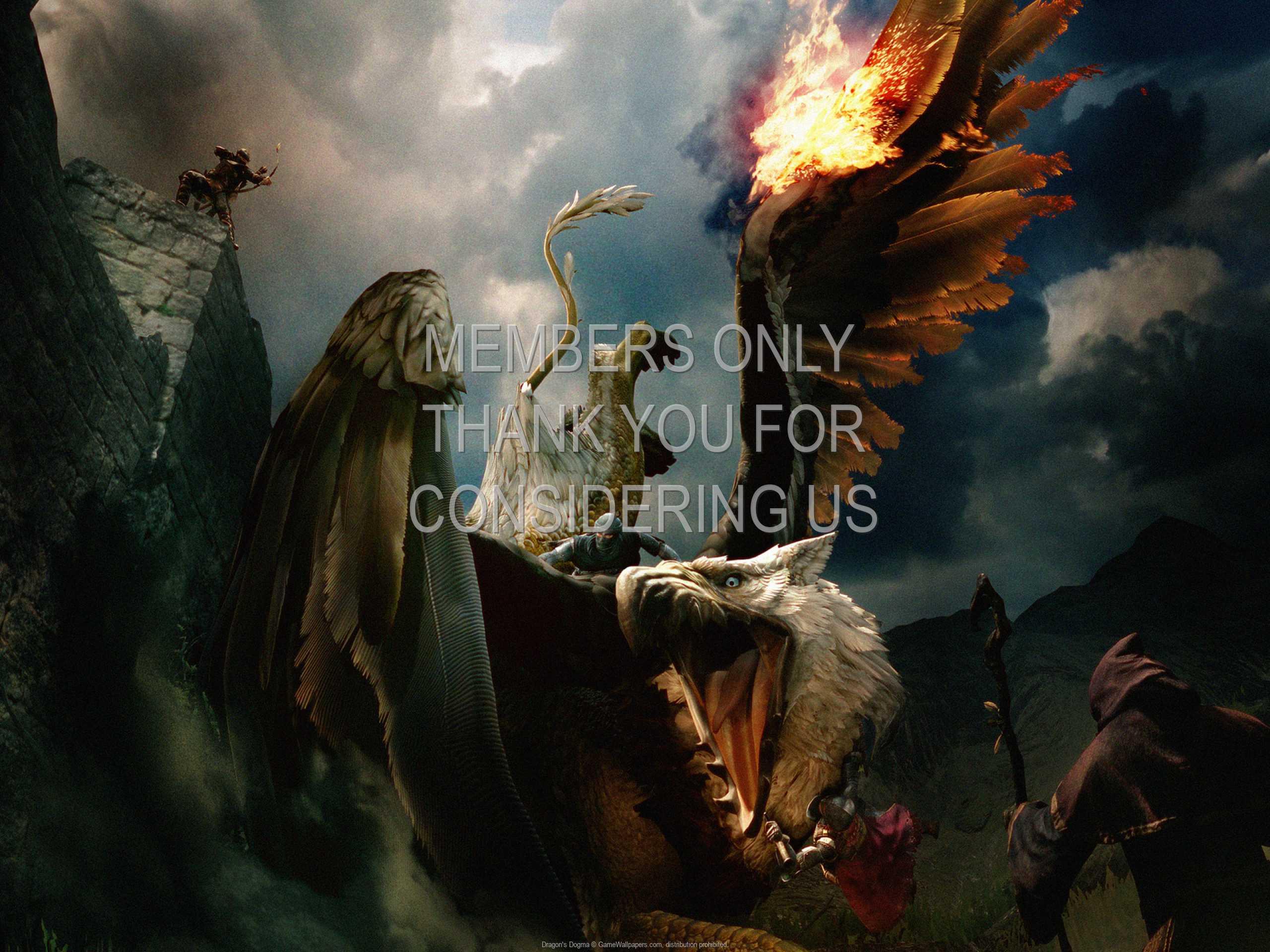 Dragon's Dogma 1080p Horizontal Handy Hintergrundbild 01