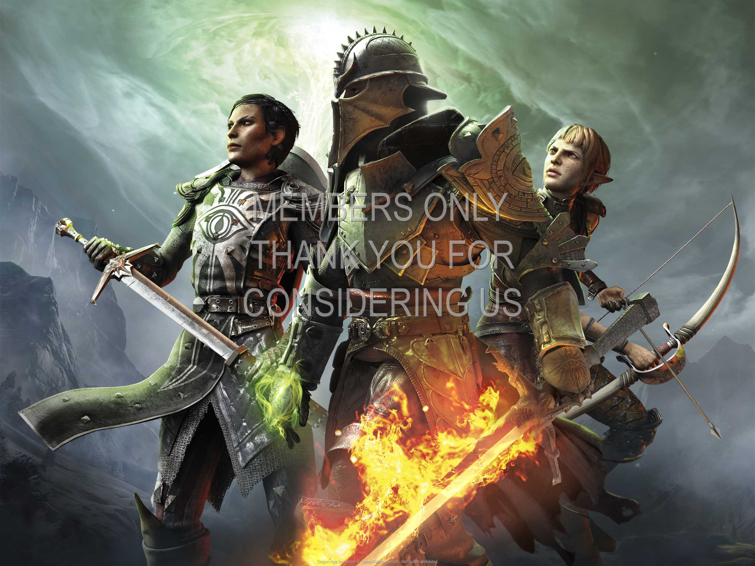 Dragon Age: Inquisition 1080p Horizontal Mobile wallpaper or background 08