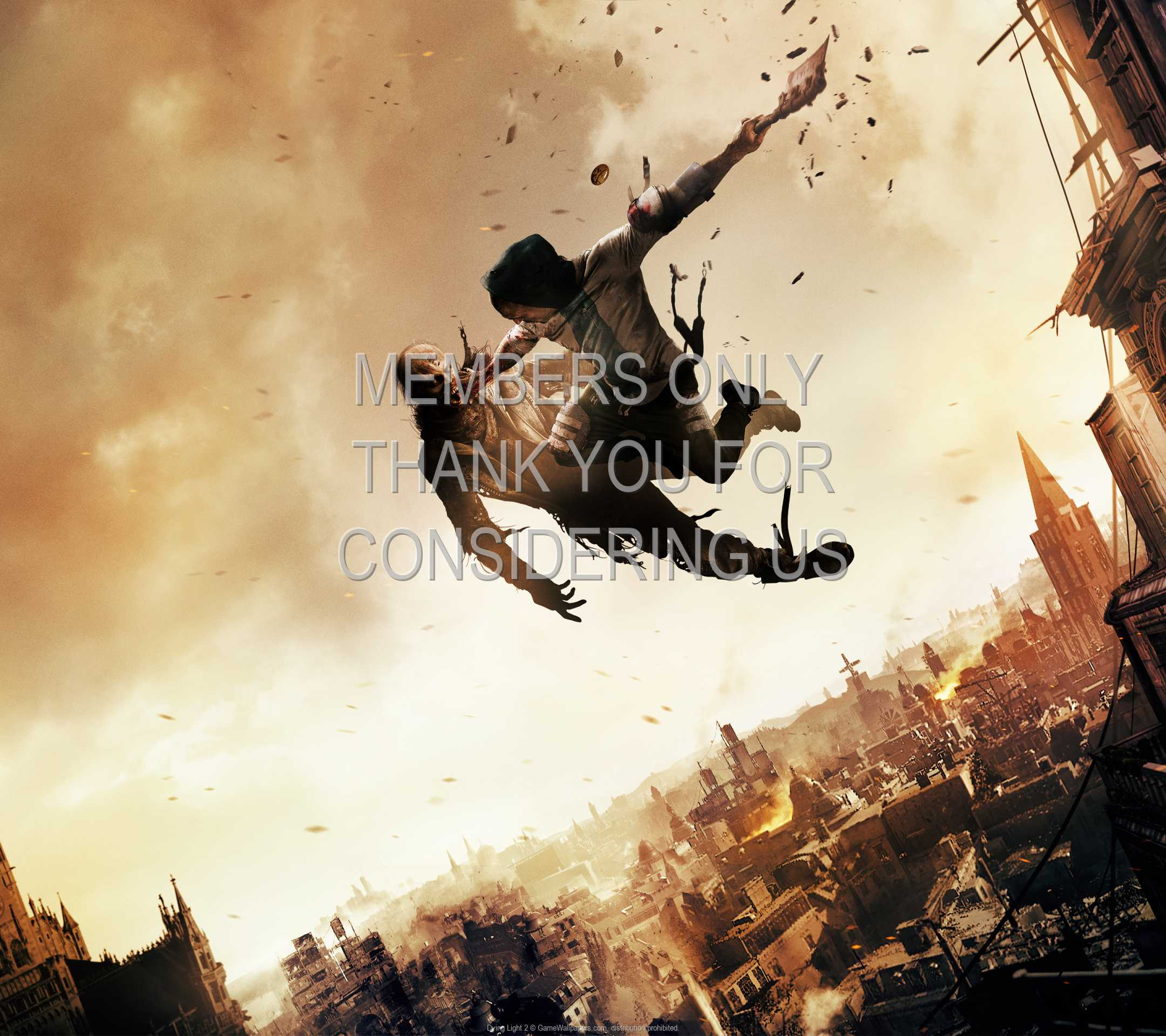 Dying Light 2 1080p Horizontal Mobiele achtergrond 01