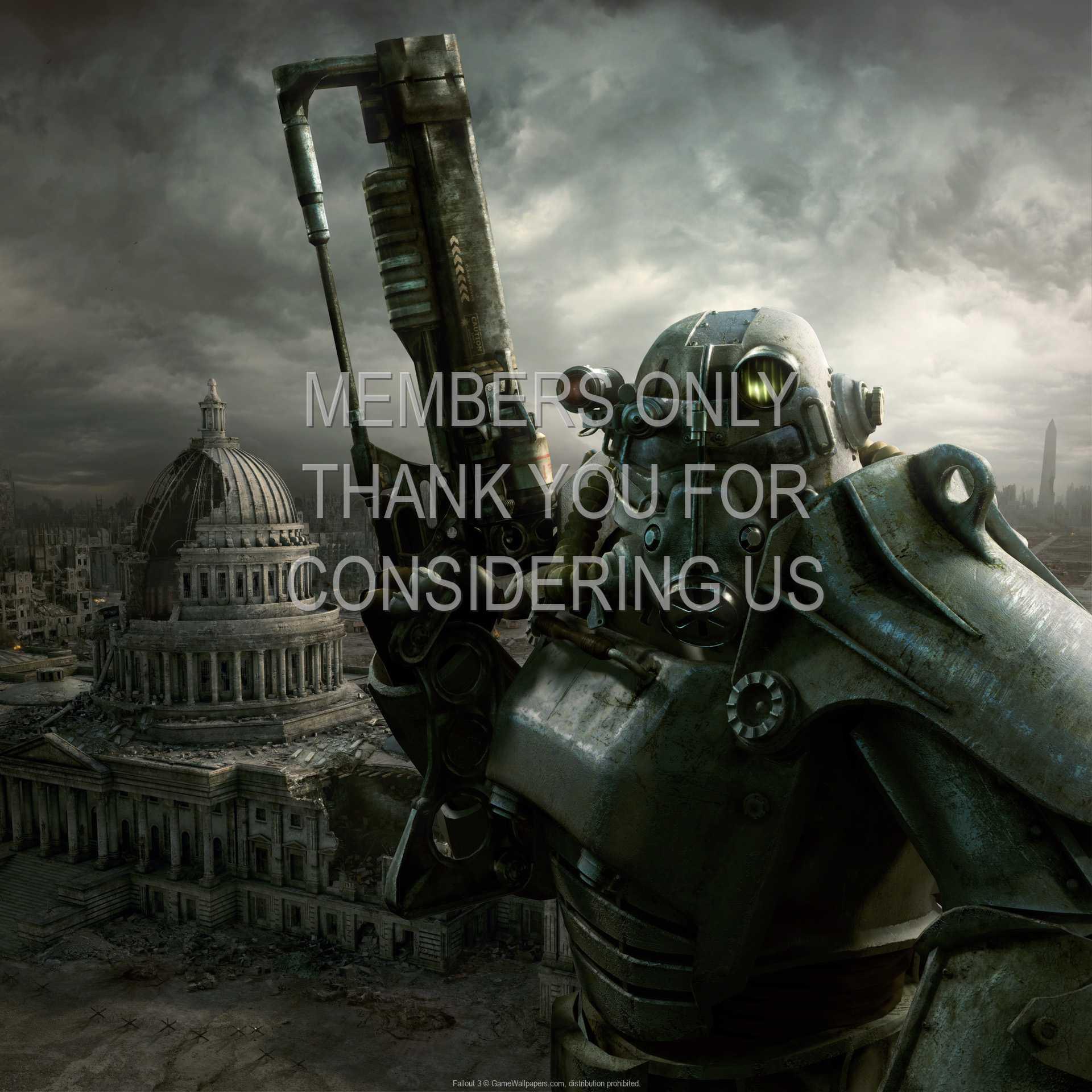 Fallout 3 1080p Horizontal Móvil fondo de escritorio 09