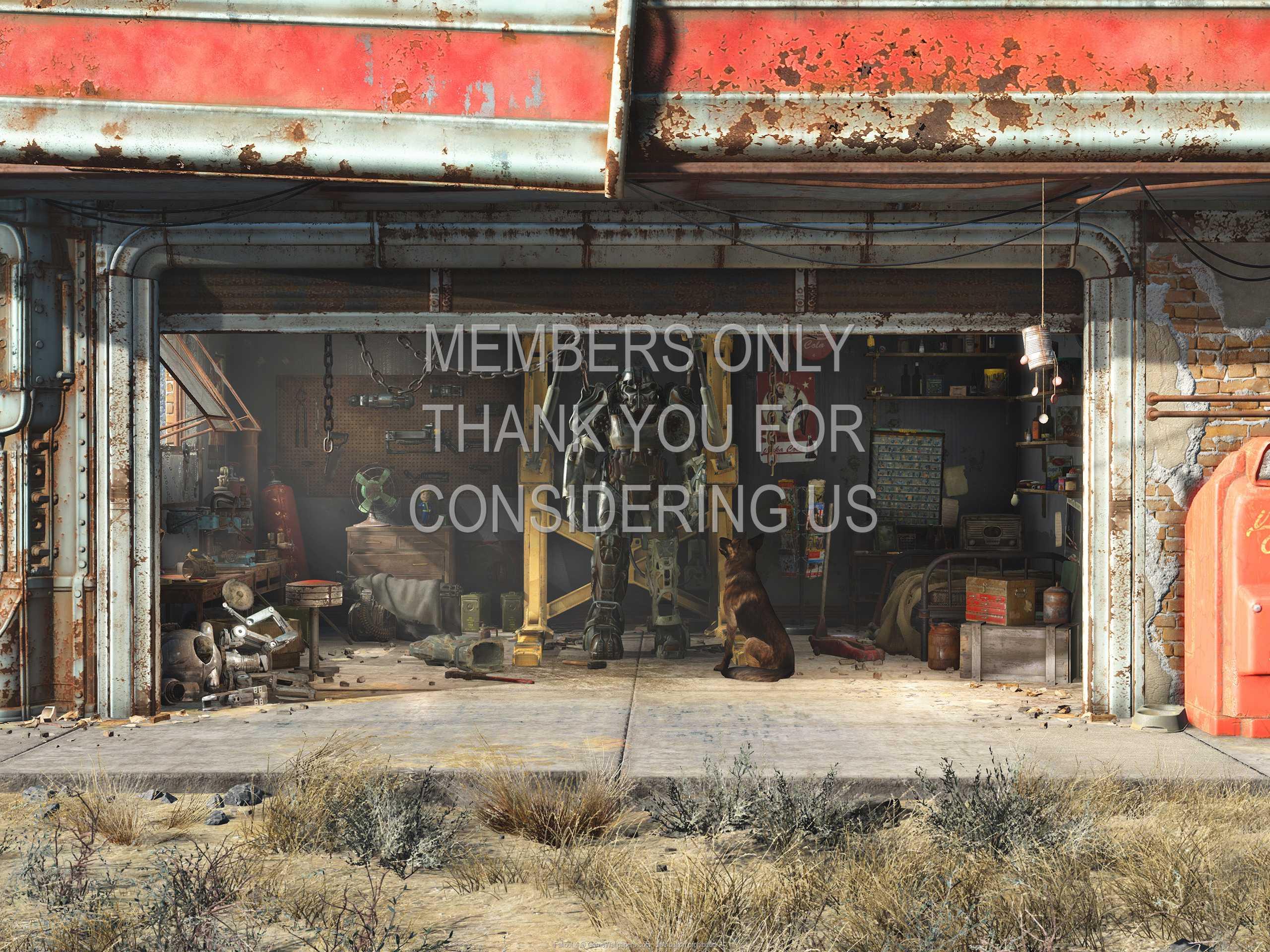 Fallout 4 1080p Horizontal Handy Hintergrundbild 01