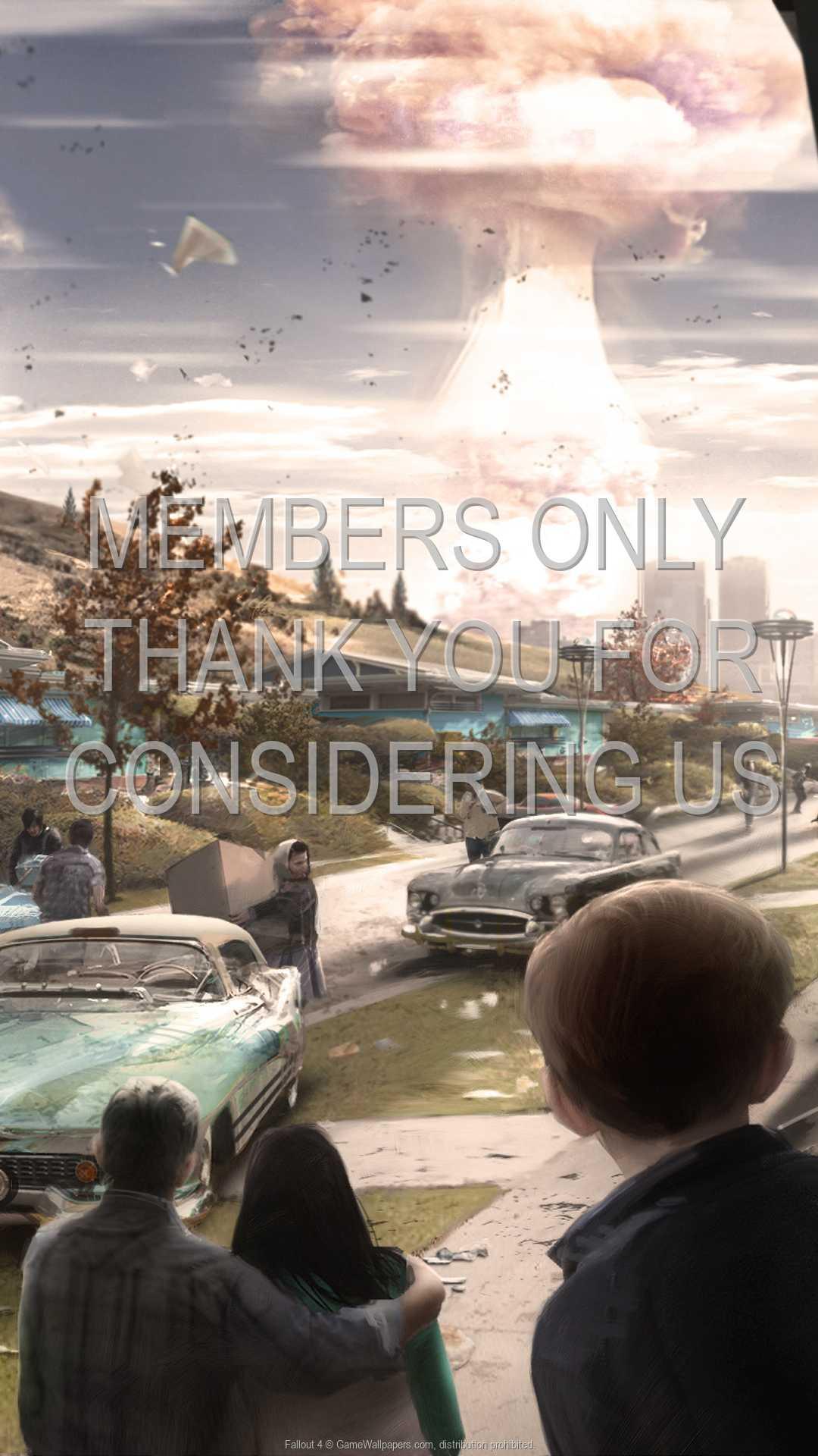Fallout 4 1080p Vertical Handy Hintergrundbild 03