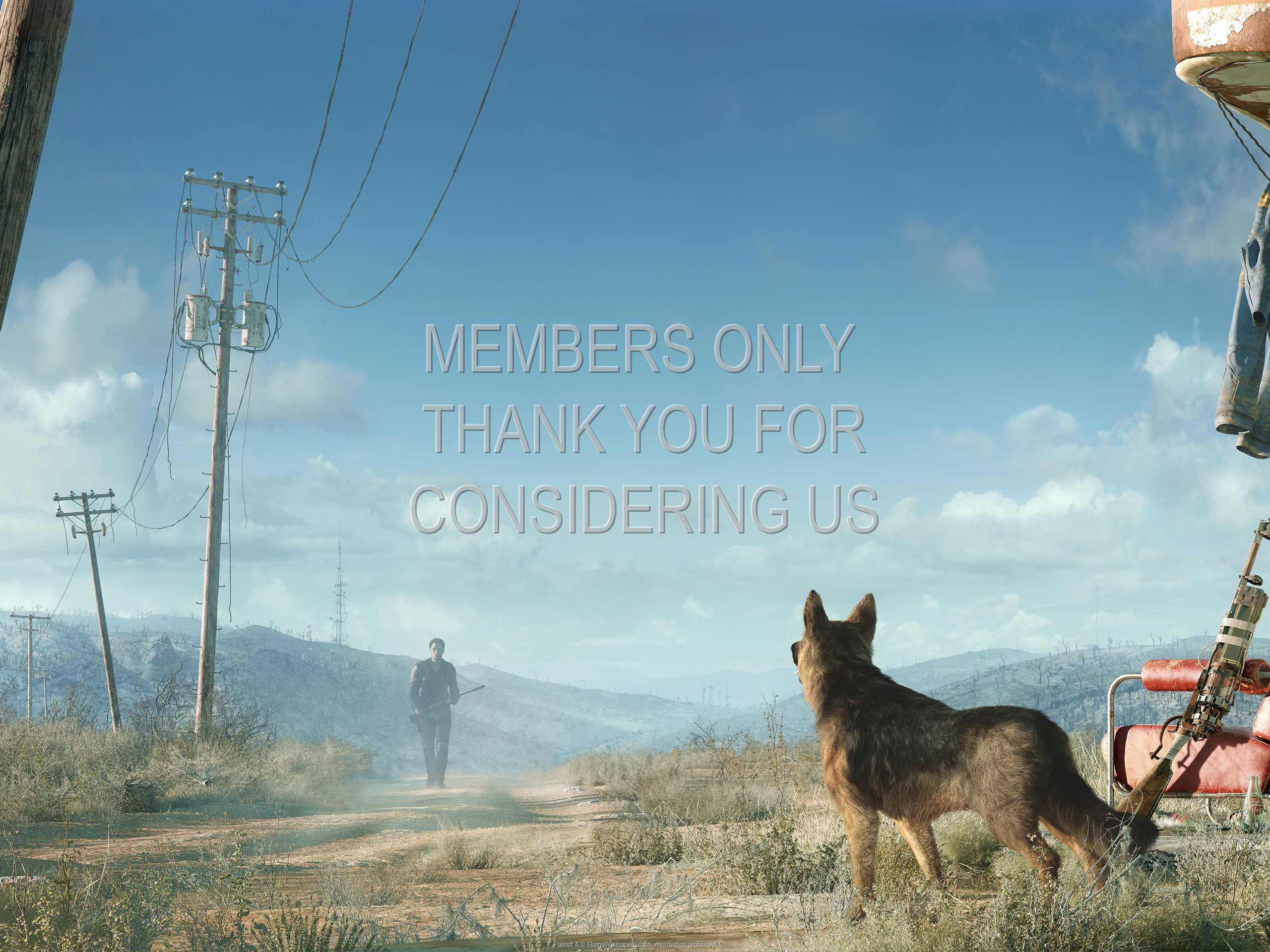 Fallout 4 1080p Horizontal Handy Hintergrundbild 05