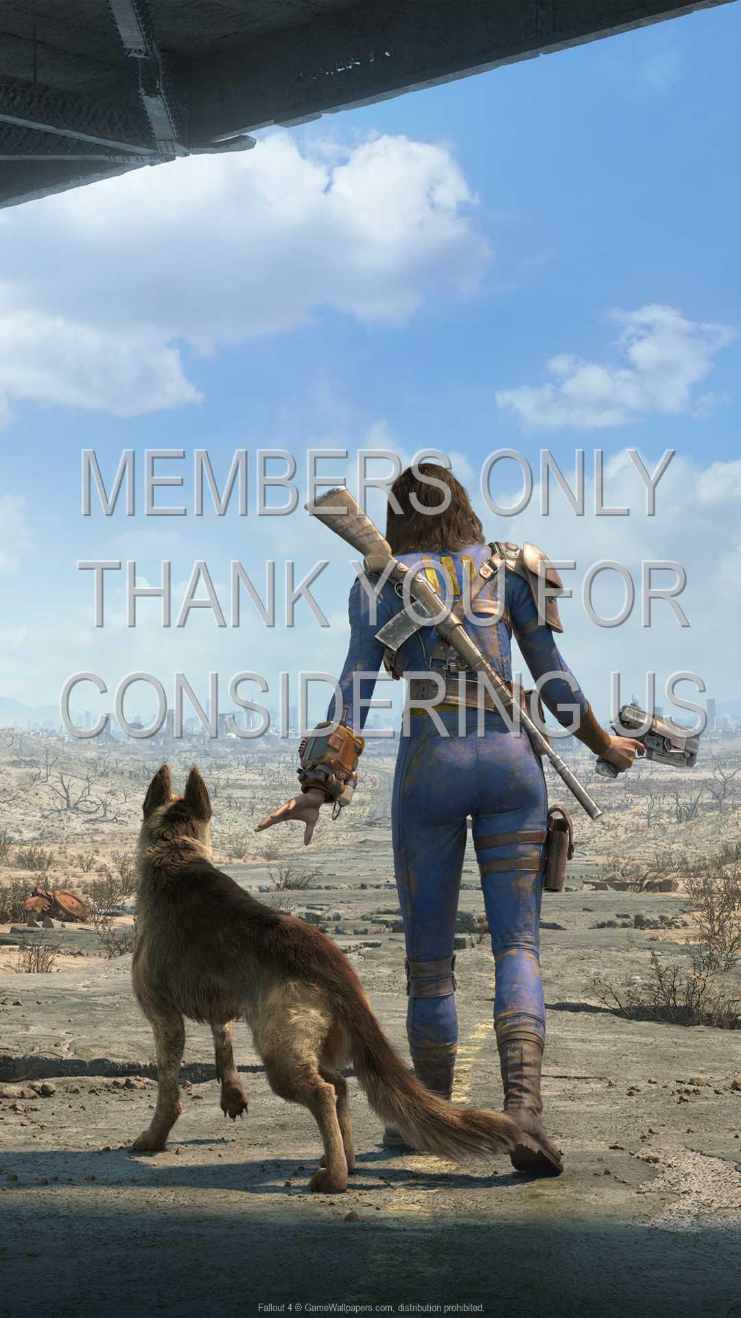 Fallout 4 1080p Vertical Handy Hintergrundbild 10