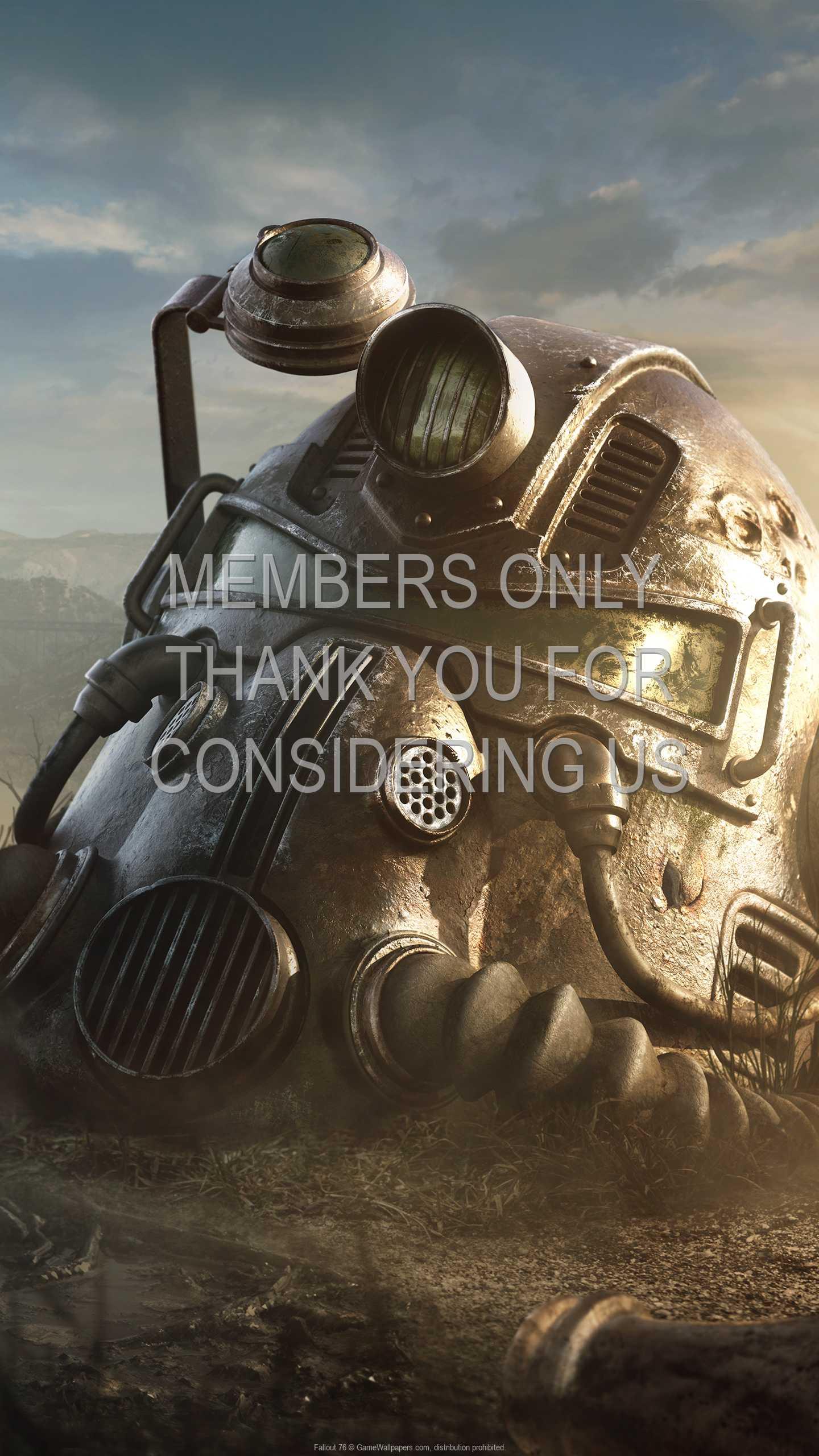 Fallout 76 1440p Vertical Mobiele achtergrond 02
