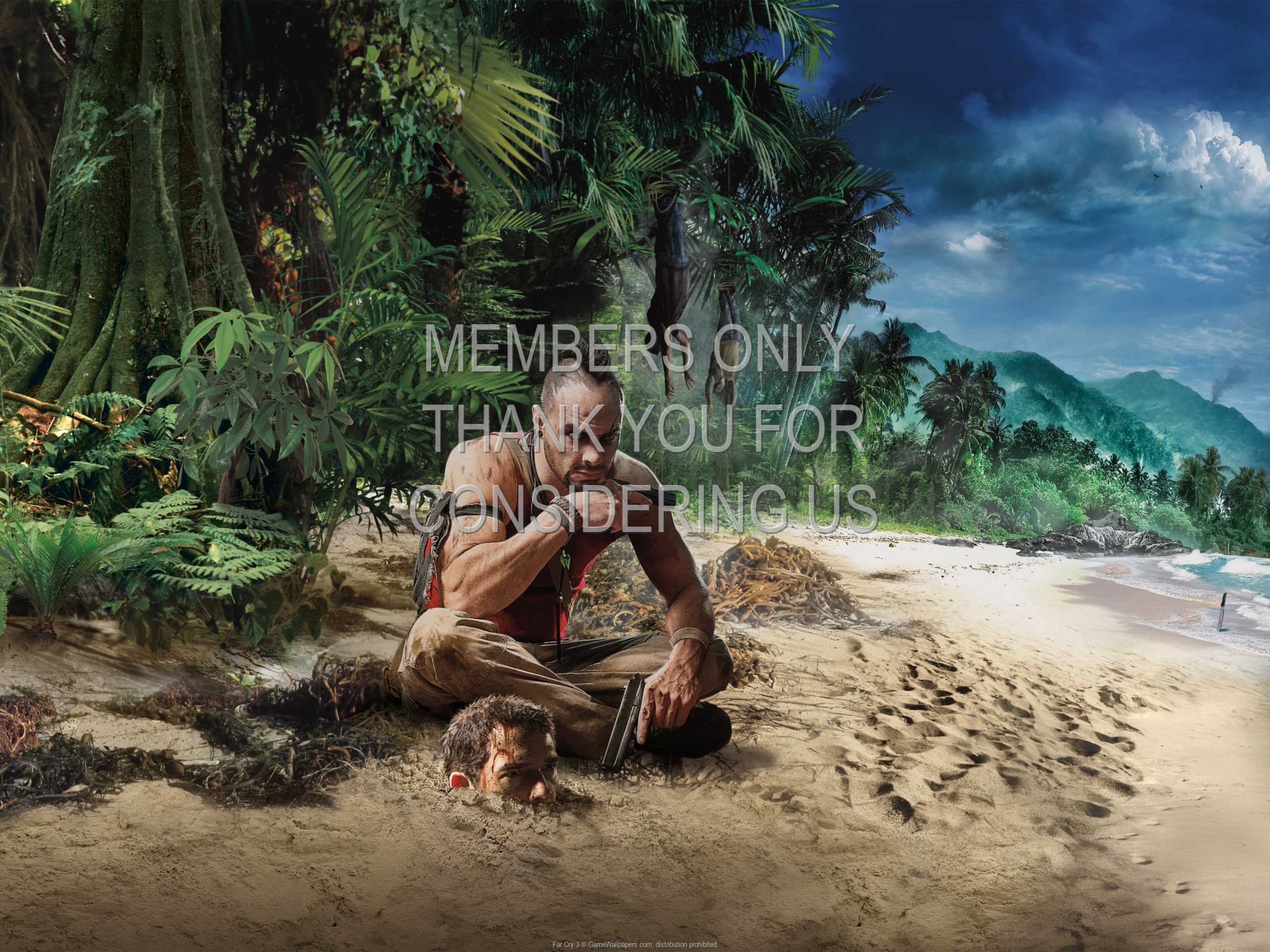 Far Cry 3 1080p Horizontal Mobiele achtergrond 12