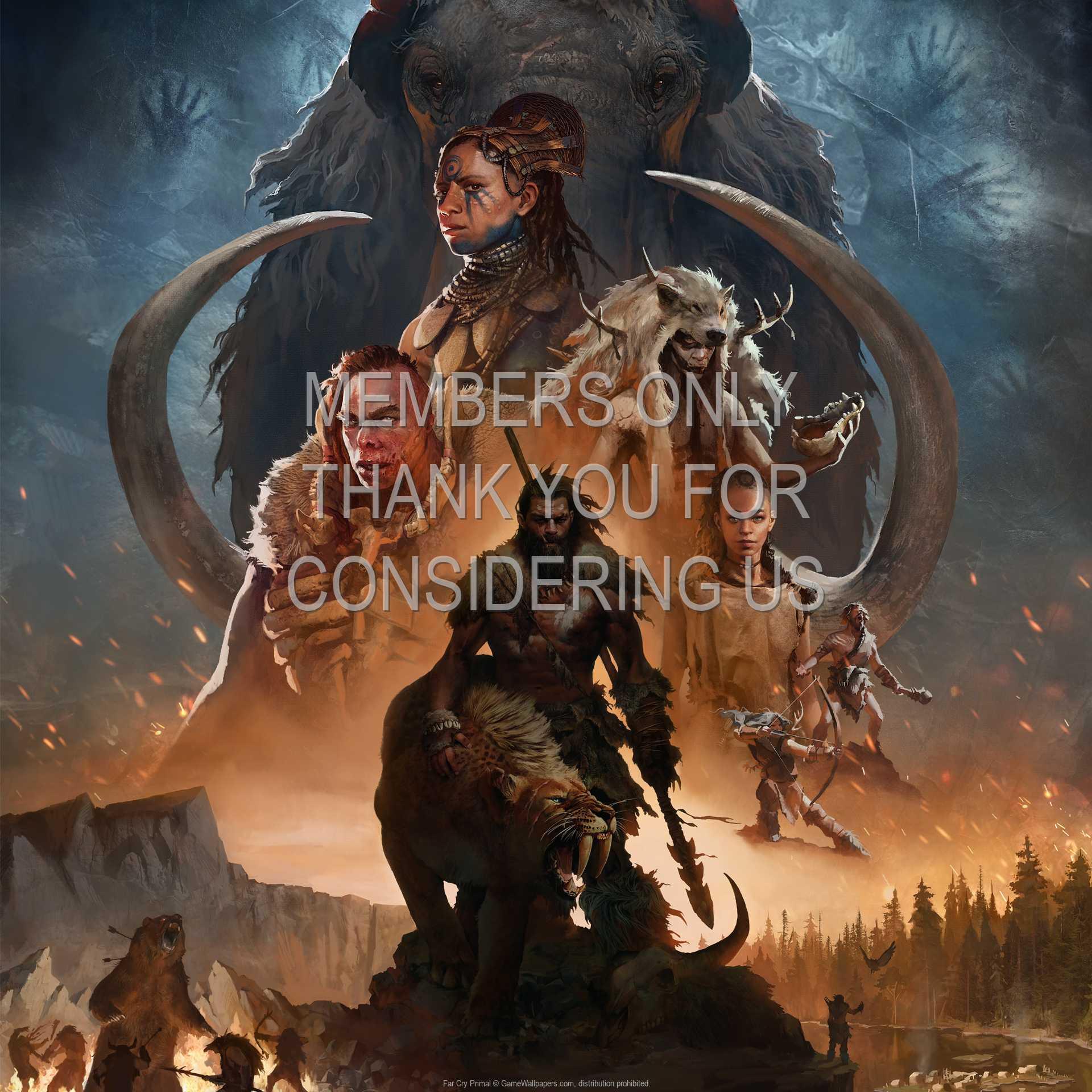 Far Cry Primal 1080p Horizontal Mobiele achtergrond 05