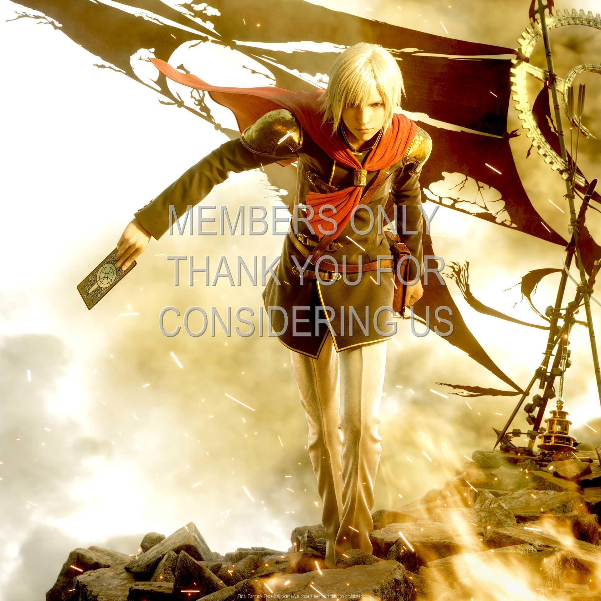 Final Fantasy Type-0 1080p Horizontal Mobile wallpaper or background 01