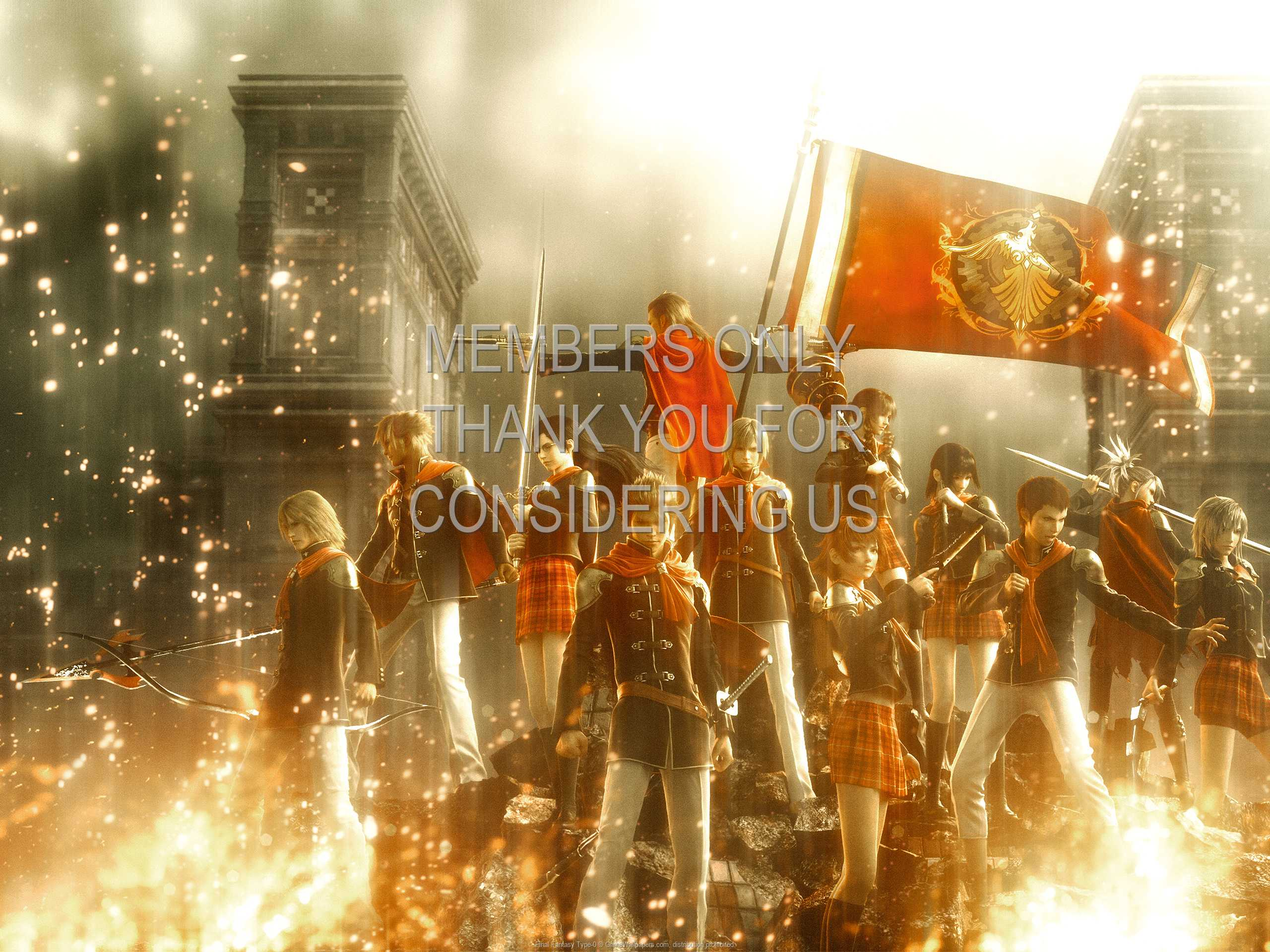 Final Fantasy Type-0 1080p Horizontal Handy Hintergrundbild 02