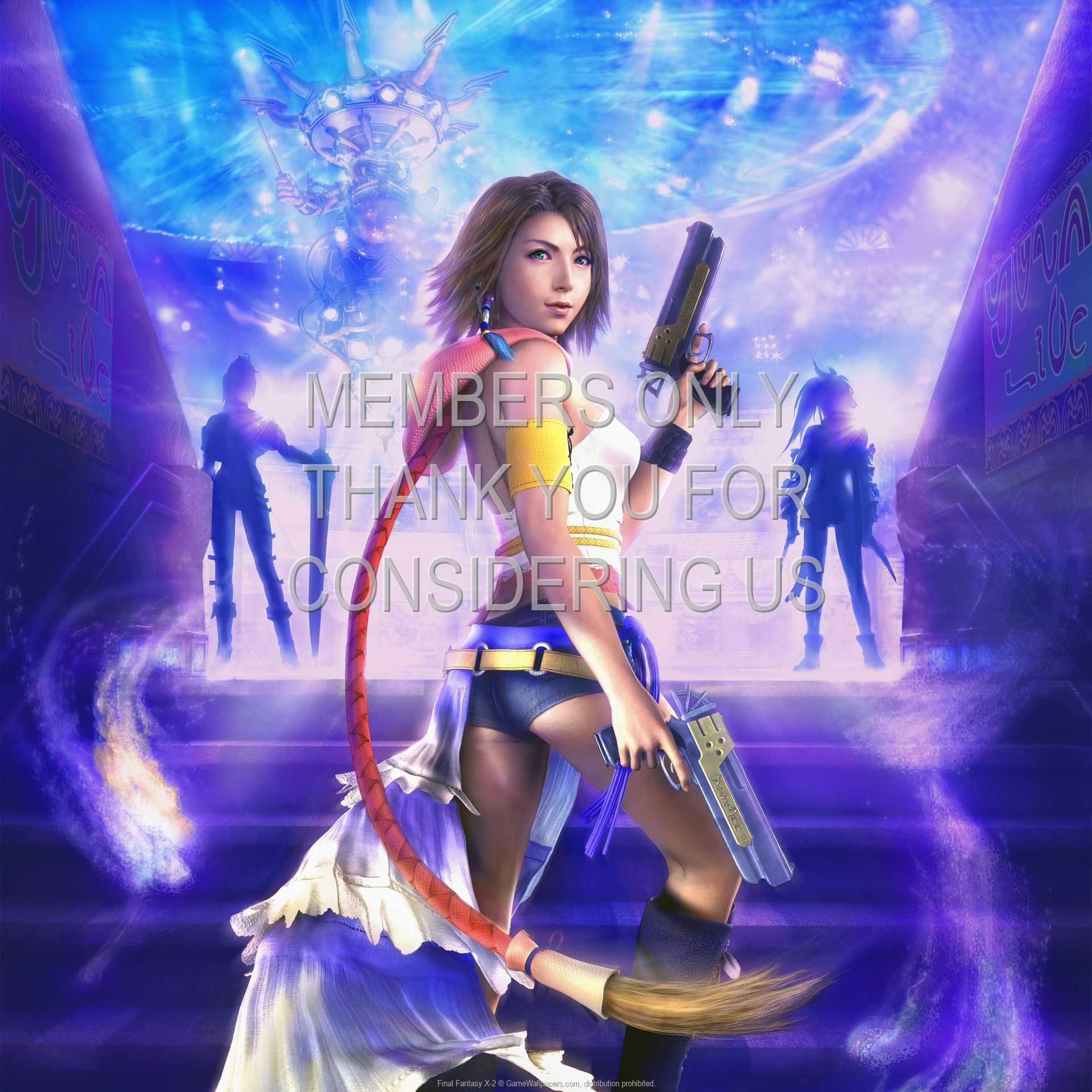 Final Fantasy X-2 1080p Horizontal Handy Hintergrundbild 10