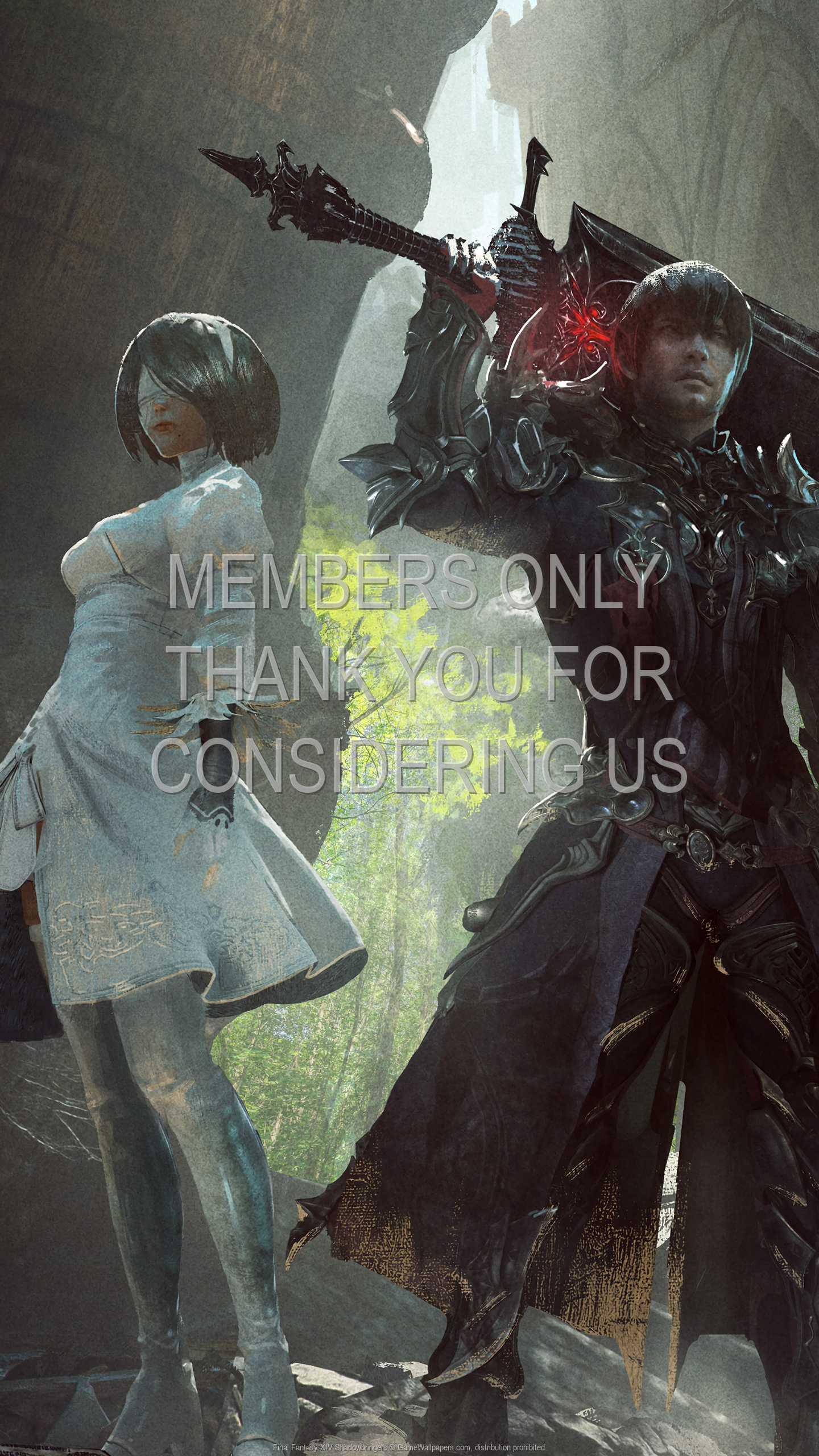 Final Fantasy XIV: Shadowbringers 1440p Vertical Mobile wallpaper or background 01