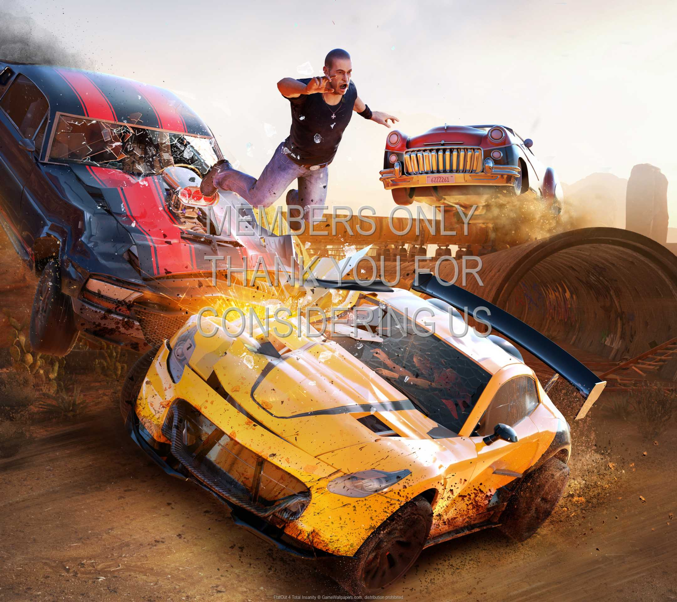 FlatOut 4: Total Insanity 1080p Horizontal Mobile wallpaper or background 01