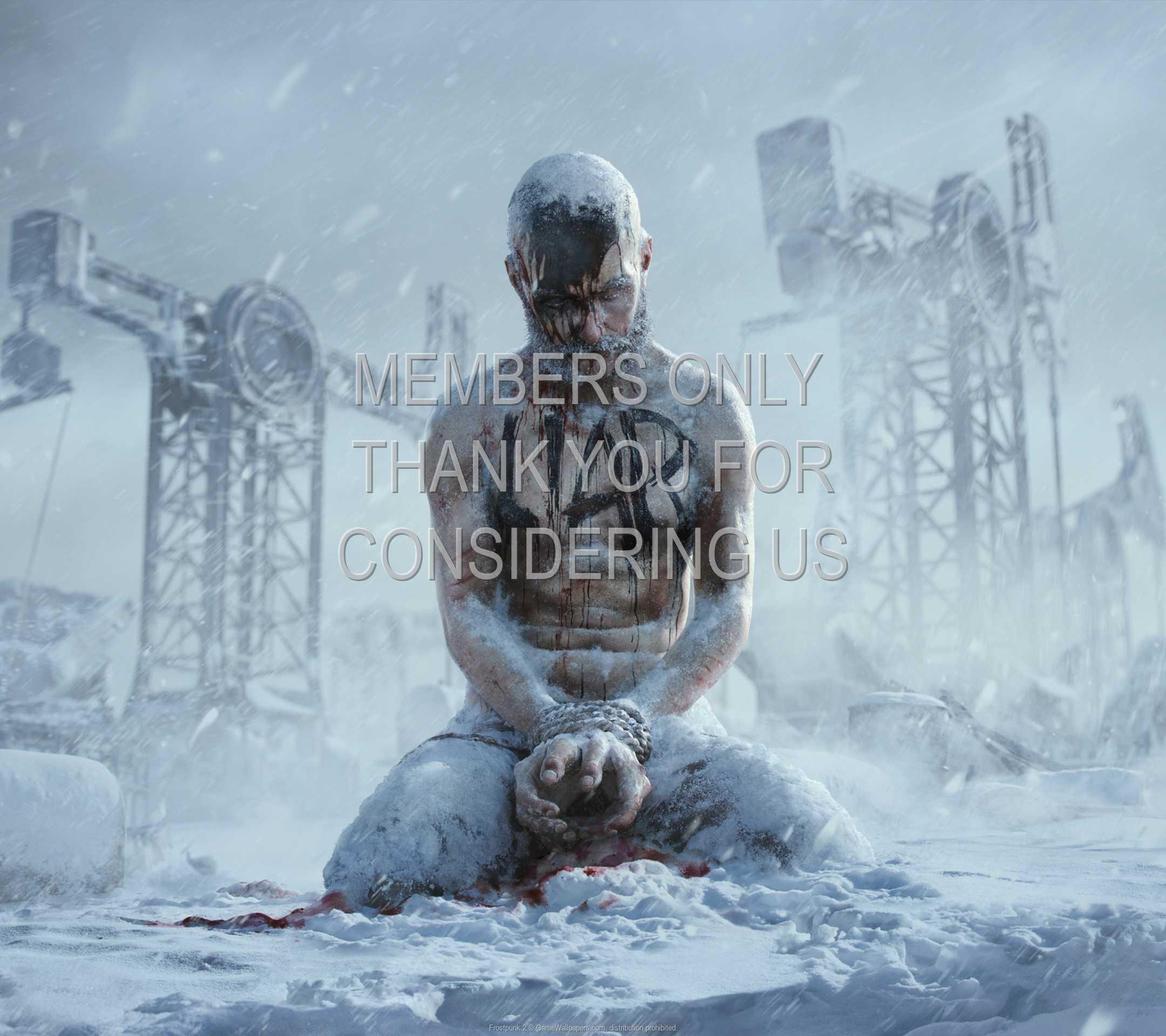Frostpunk 2 1080p Horizontal Mobiele achtergrond 01