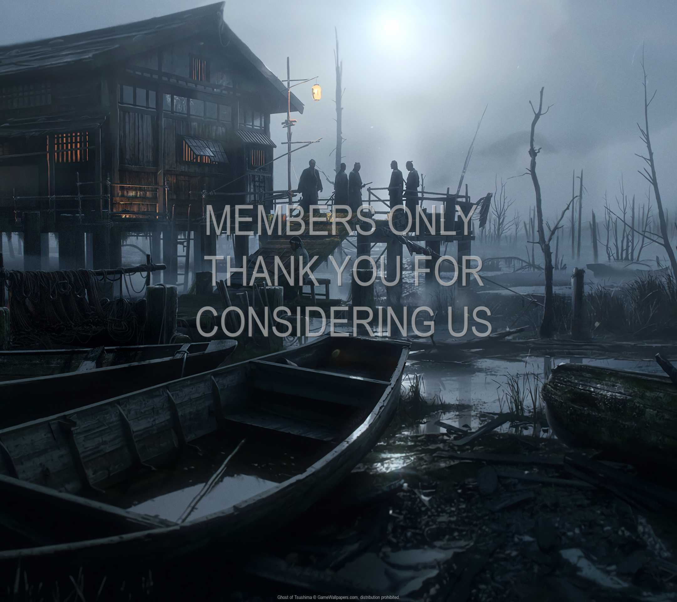 Ghost of Tsushima 1080p Horizontal Mobiele achtergrond 03