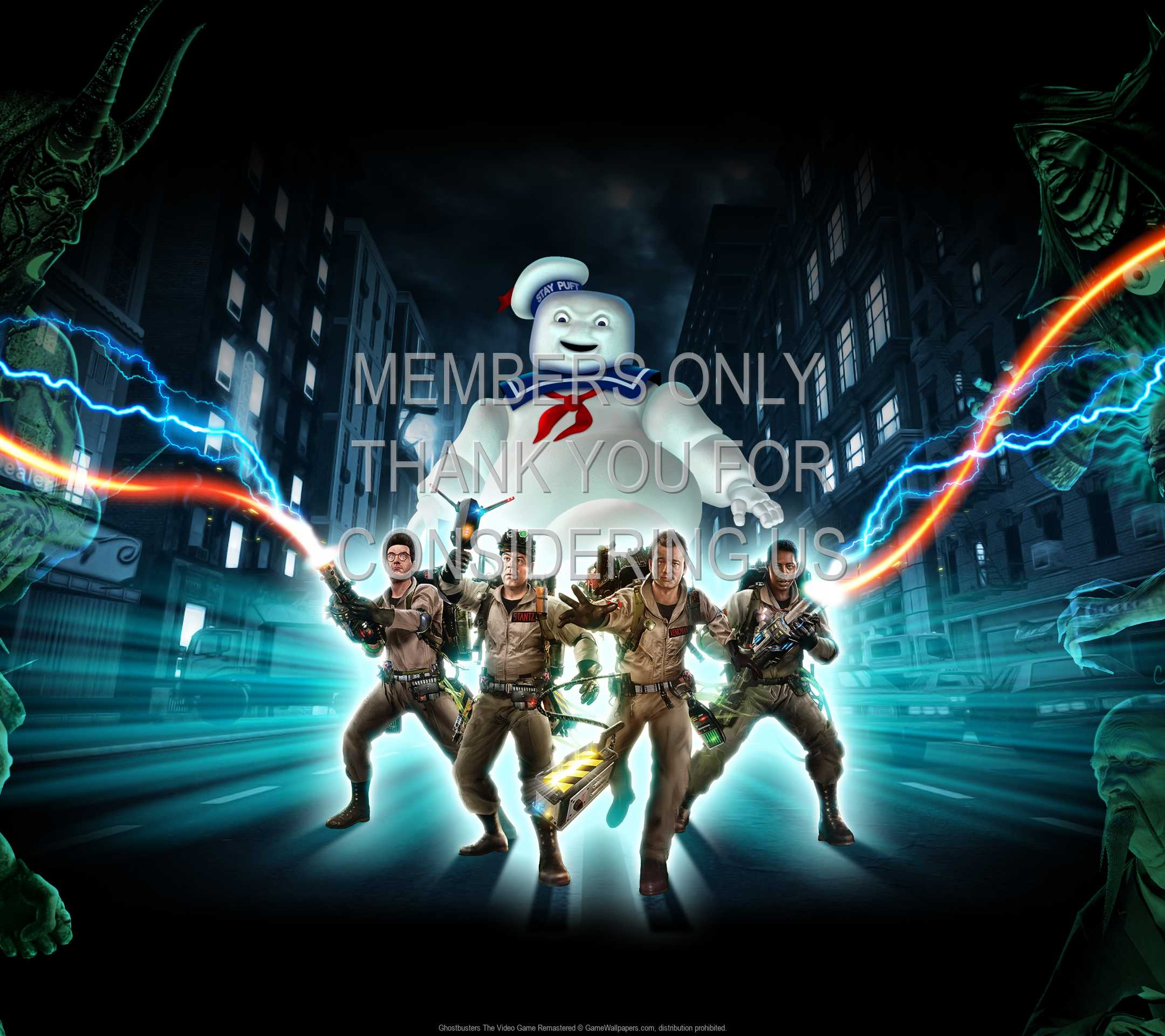 Ghostbusters: The Video Game Remastered 1080p Horizontal Handy Hintergrundbild 01