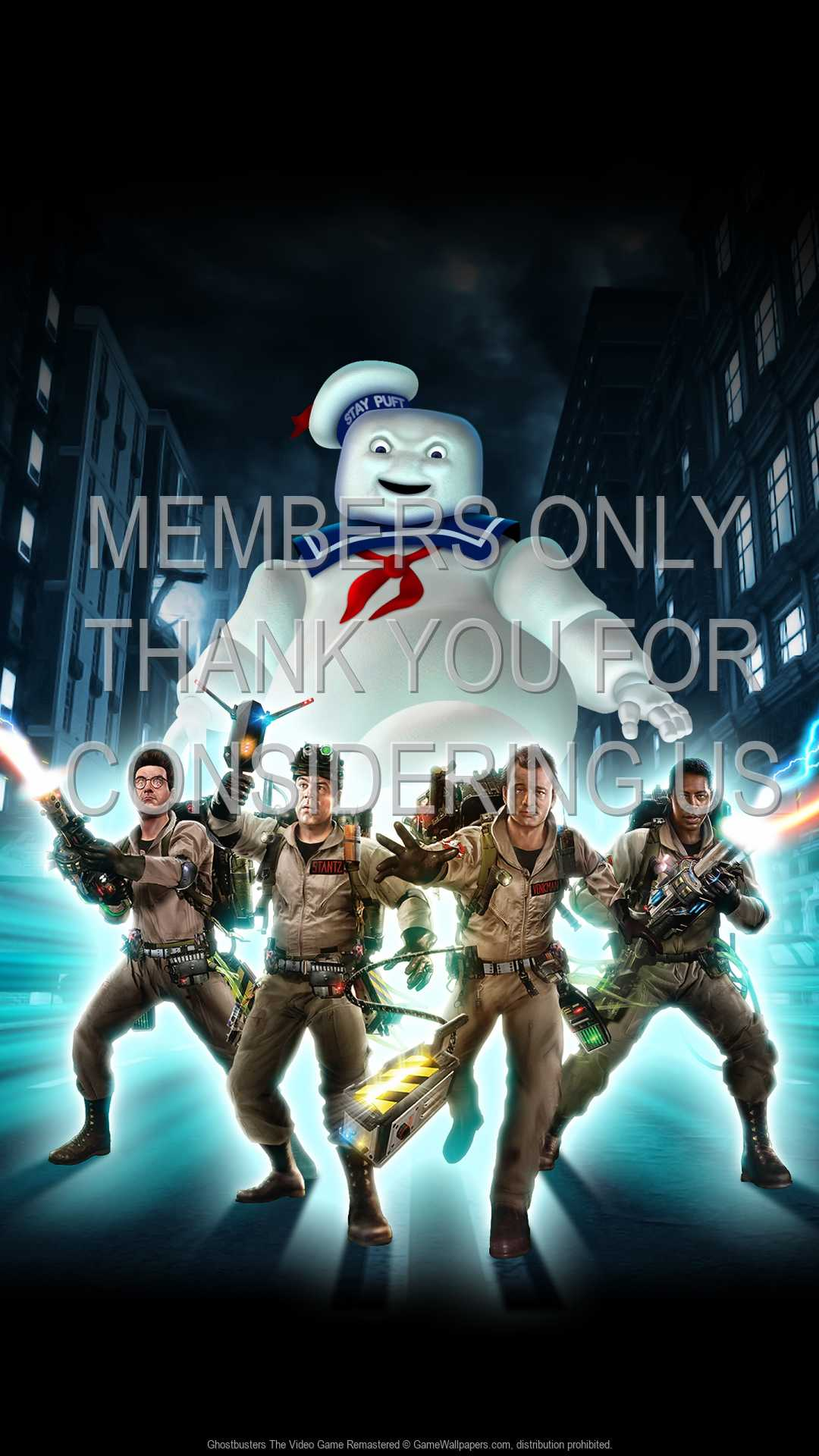 Ghostbusters: The Video Game Remastered 1080p Vertical Mobile fond d'écran 01