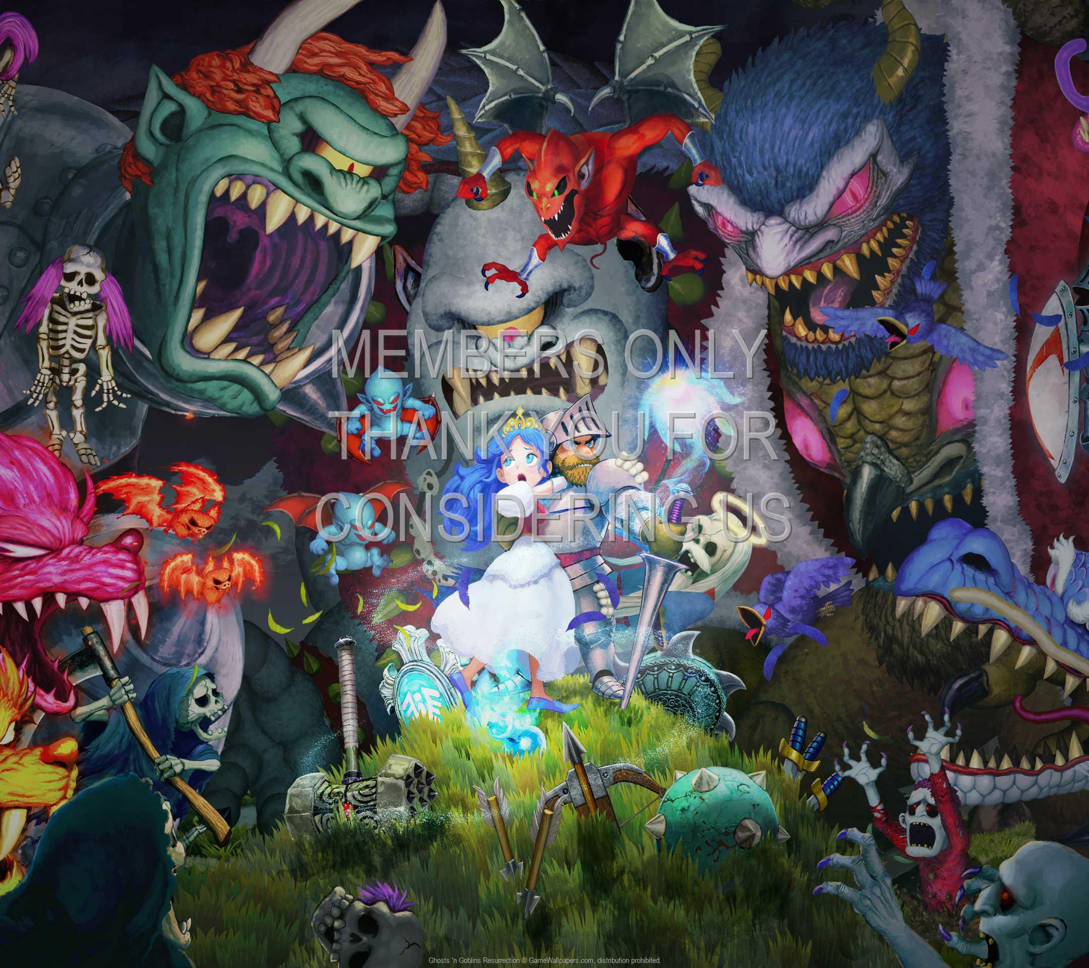 Ghosts 'n Goblins Resurrection 1080p Horizontal Móvil fondo de escritorio 01