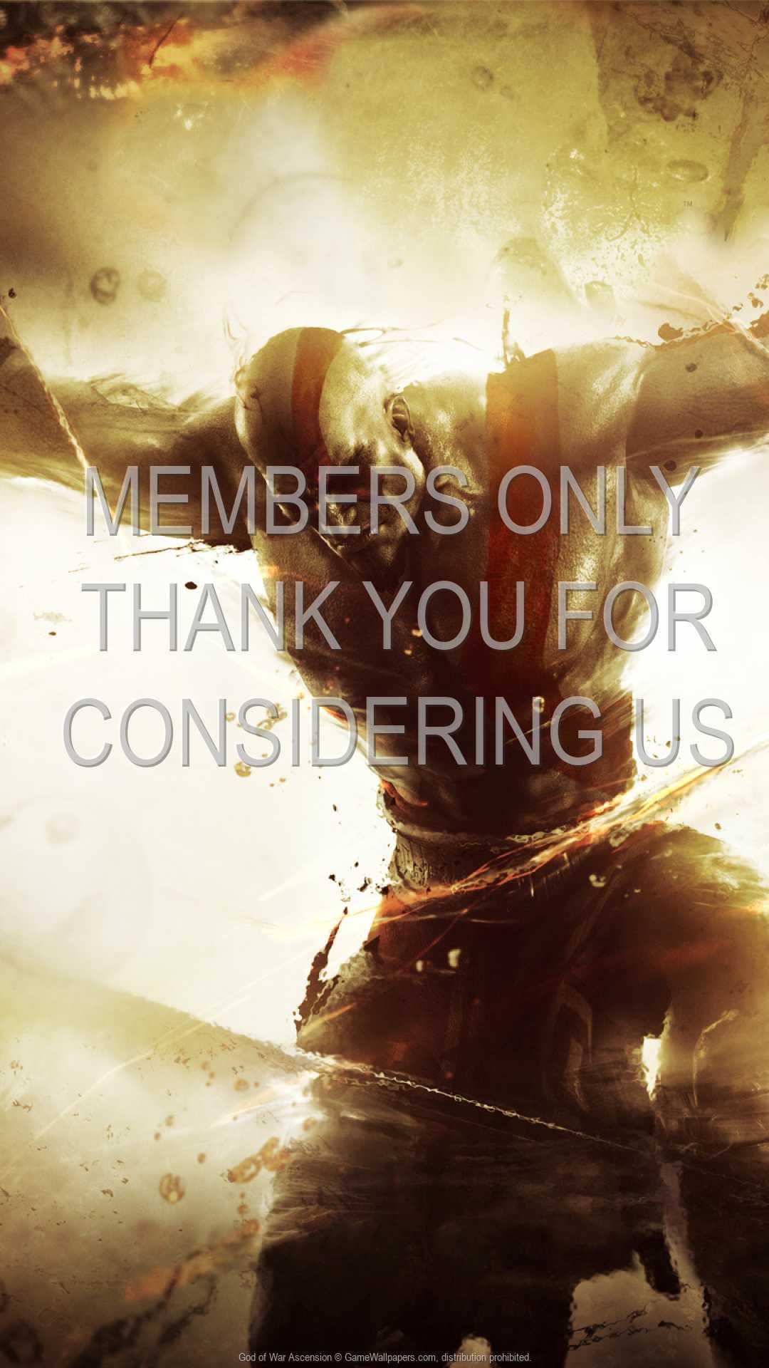 God of War: Ascension 1080p Vertical Handy Hintergrundbild 01