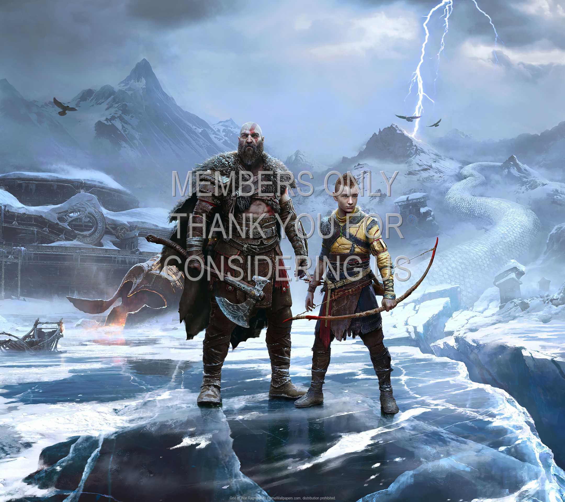 God of War: Ragnarok 1080p Horizontal Móvil fondo de escritorio 01