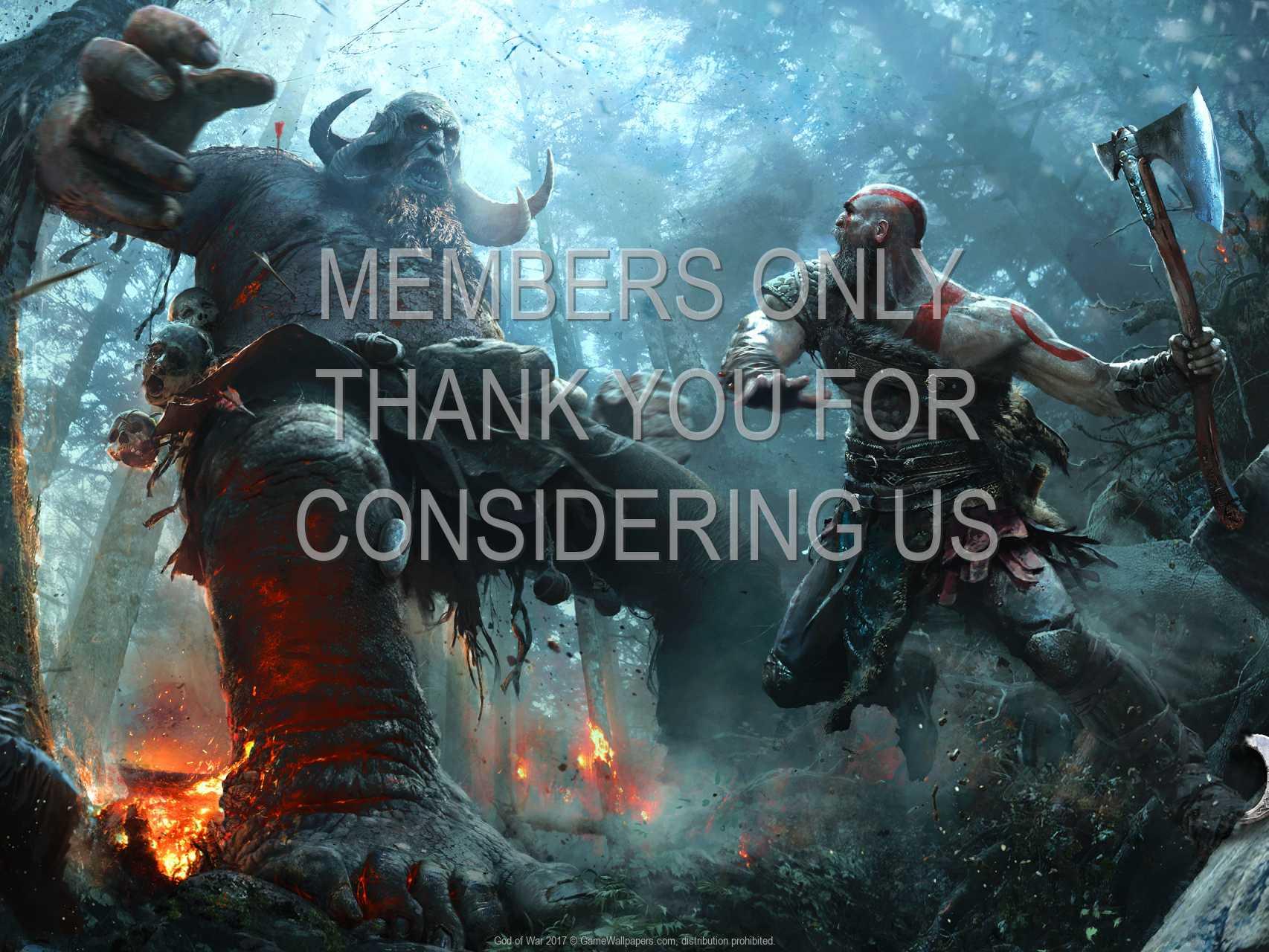 God of War 2017 720p Horizontal Mobile wallpaper or background 01