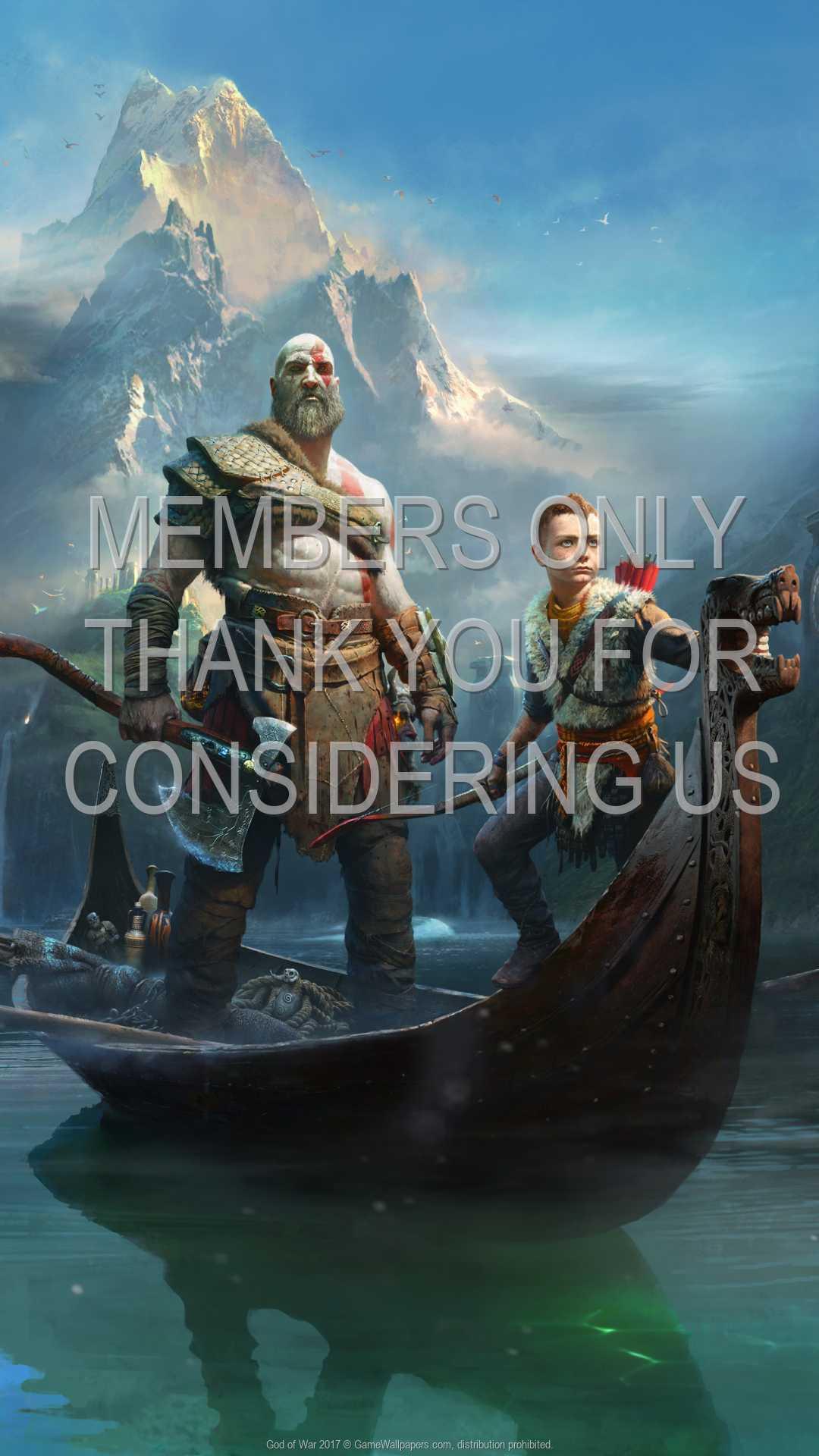 God of War 2017 1080p Vertical Móvil fondo de escritorio 03