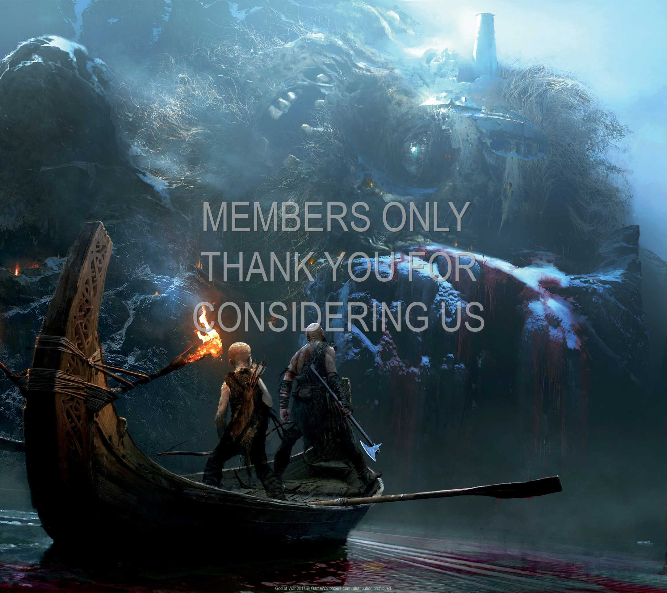 God of War 2017 1080p Horizontal Handy Hintergrundbild 10