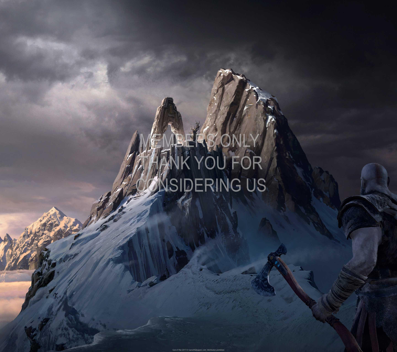 God of War 2017 1440p Horizontal Mobile wallpaper or background 13