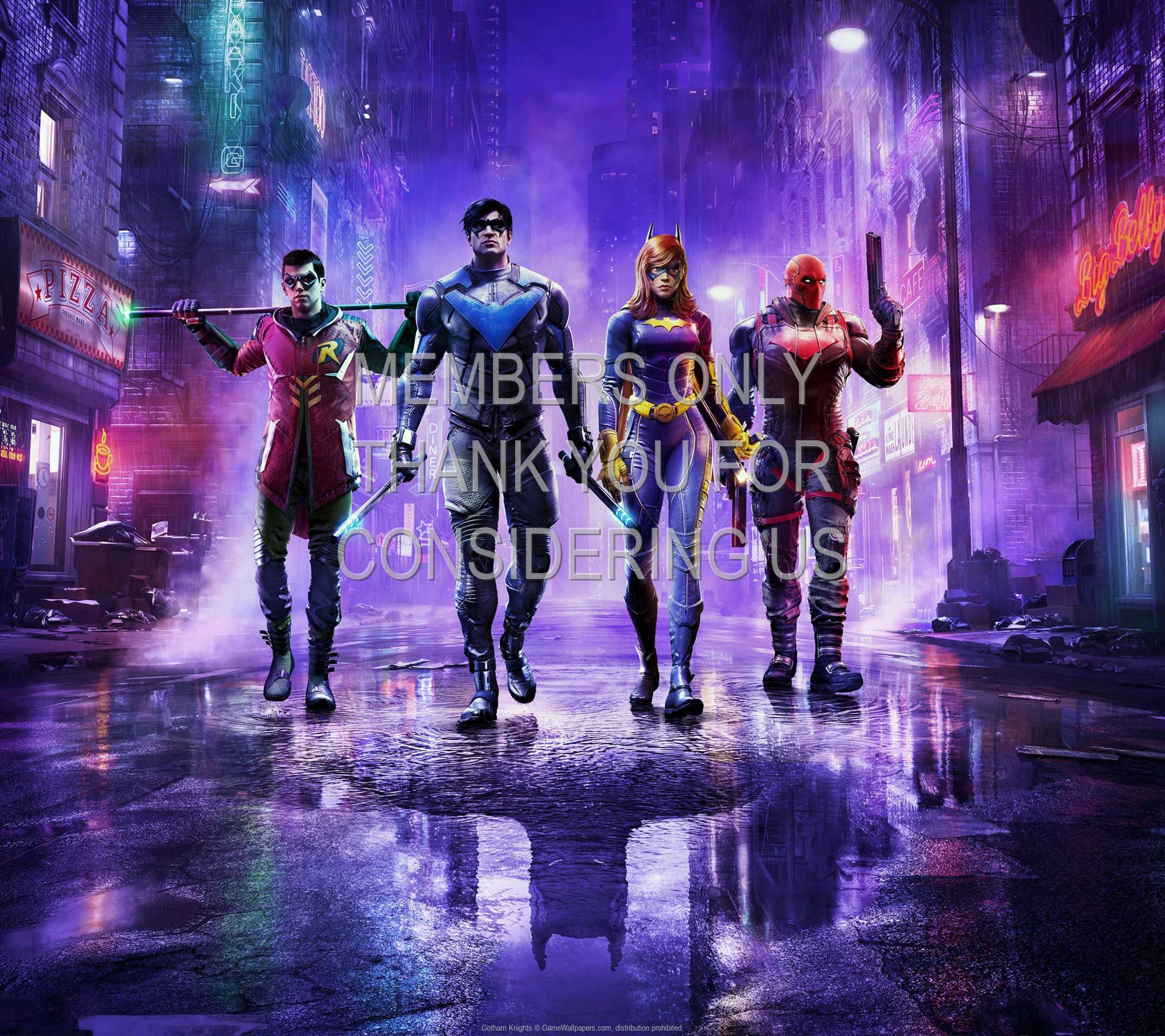 Gotham Knights 1080p Horizontal Móvil fondo de escritorio 01