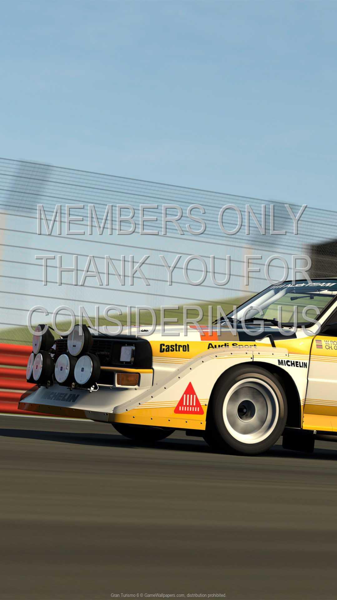 Gran Turismo 6 1080p Vertical Handy Hintergrundbild 01