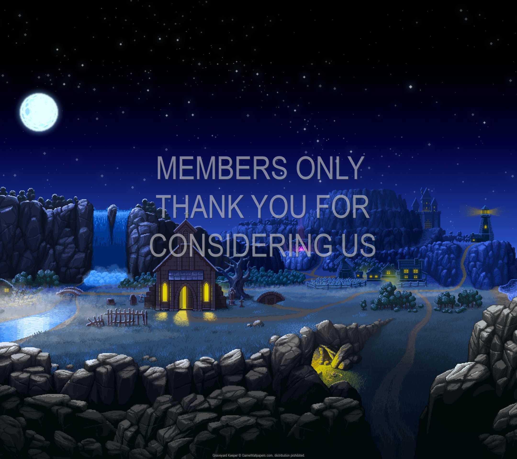 Graveyard Keeper 1080p Horizontal Móvil fondo de escritorio 01