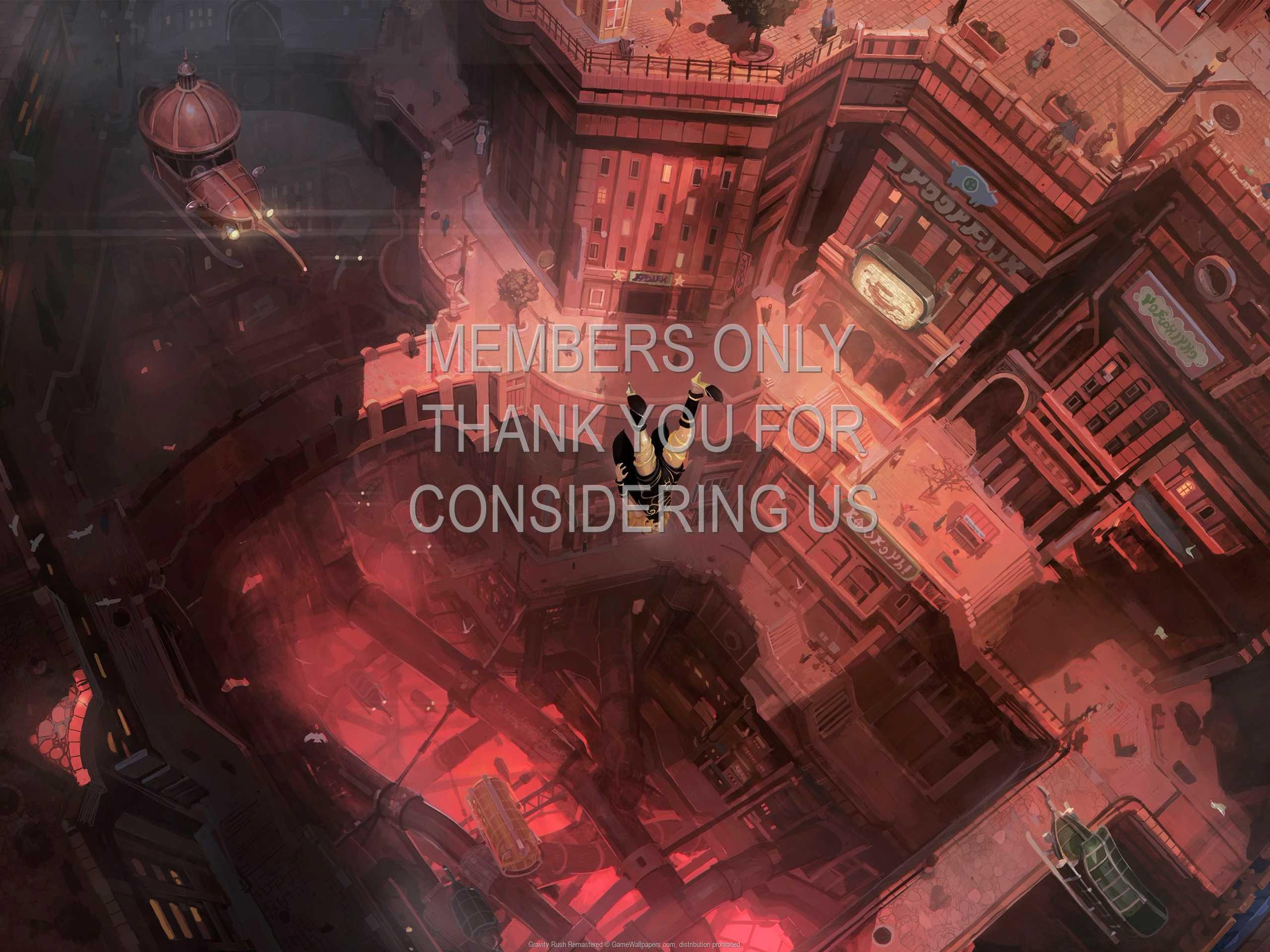 Gravity Rush Remastered 1080p Horizontal Mobile wallpaper or background 01
