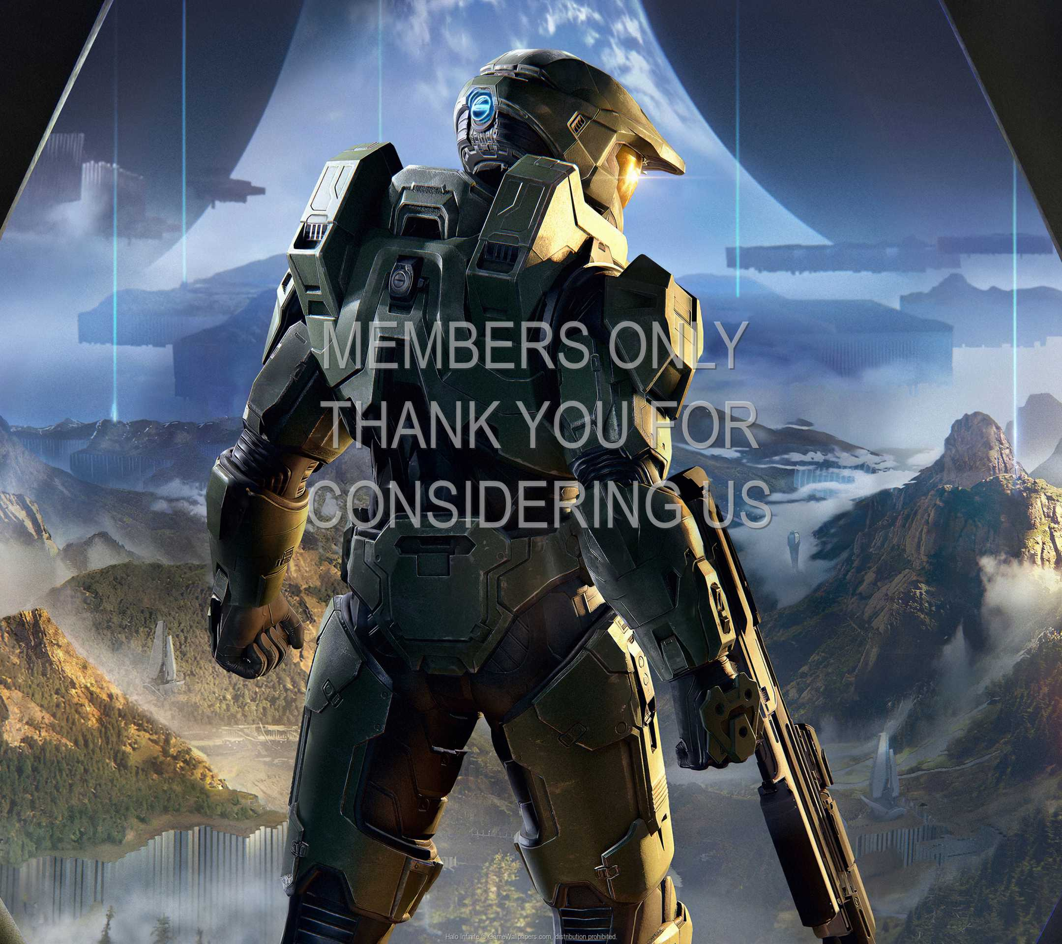 Halo: Infinite 1080p Horizontal Handy Hintergrundbild 02