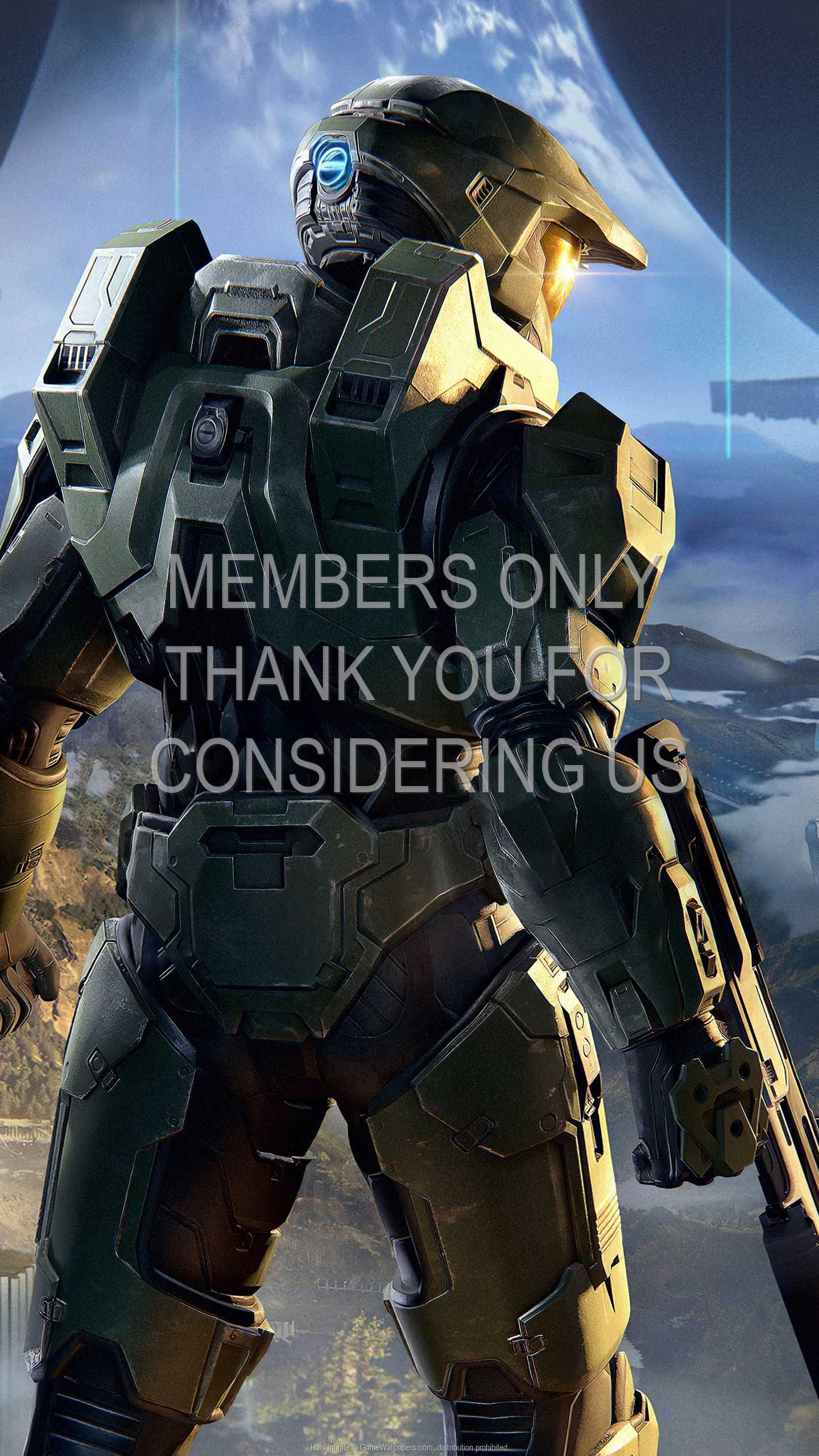 Halo: Infinite 1440p Vertical Handy Hintergrundbild 02