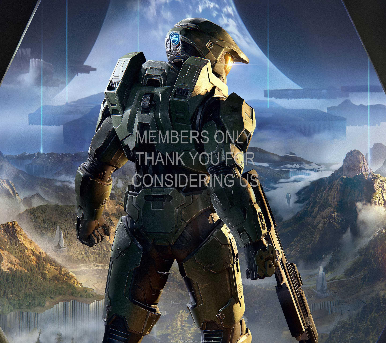 Halo: Infinite 1440p Horizontal Handy Hintergrundbild 02