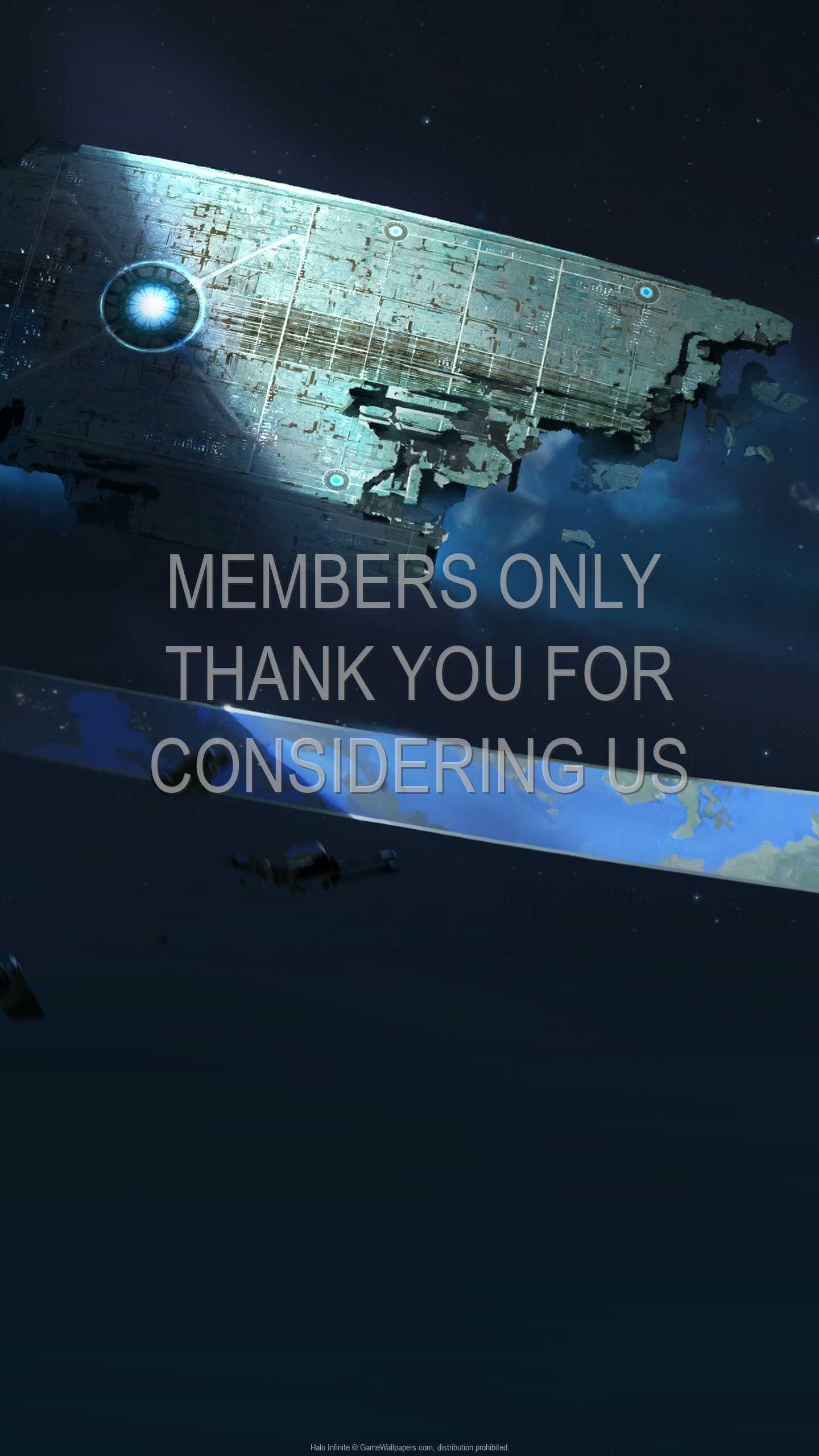 Halo: Infinite 1440p Vertical Móvil fondo de escritorio 03