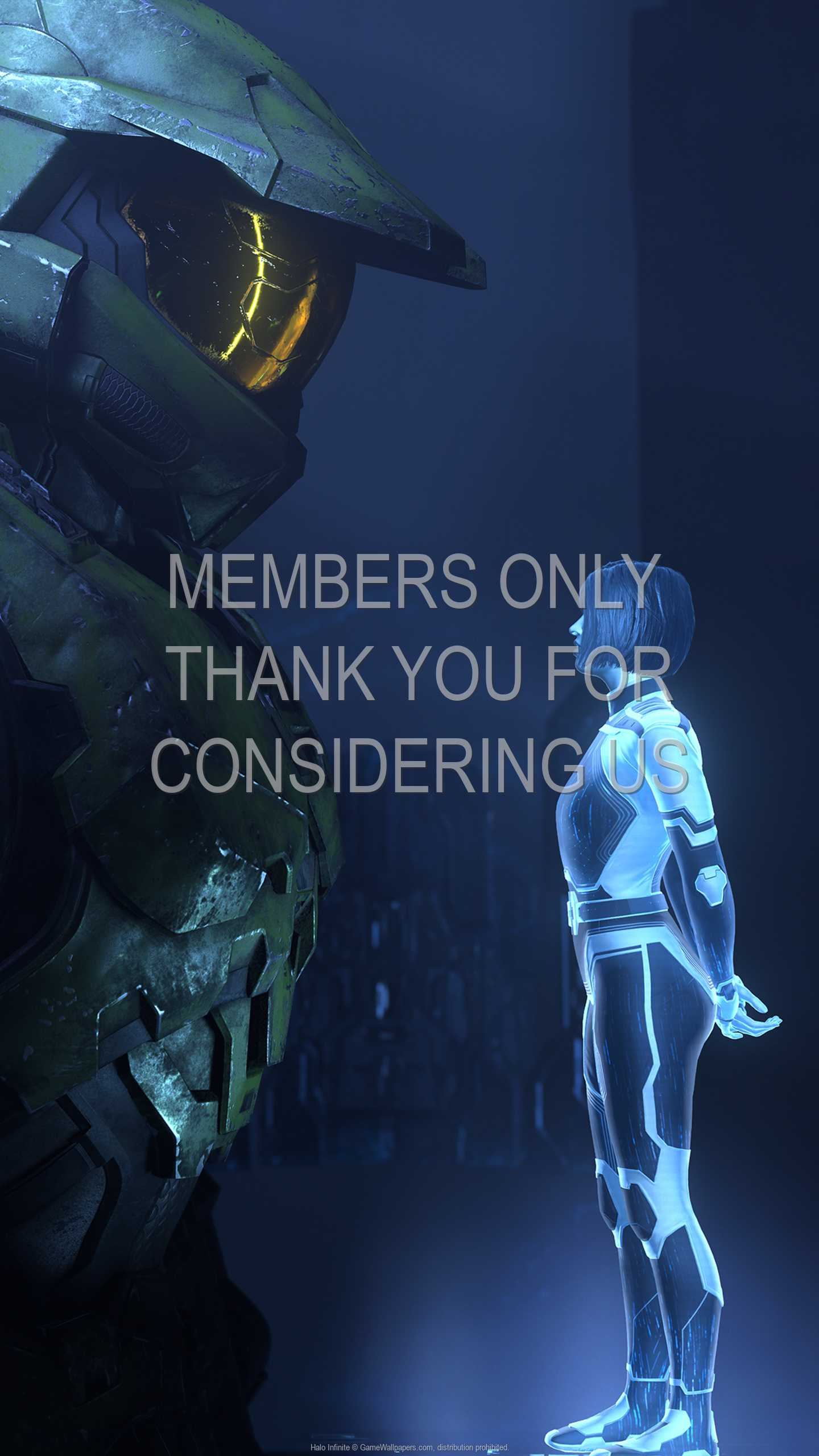 Halo: Infinite 1440p Vertical Mobile fond d'écran 10