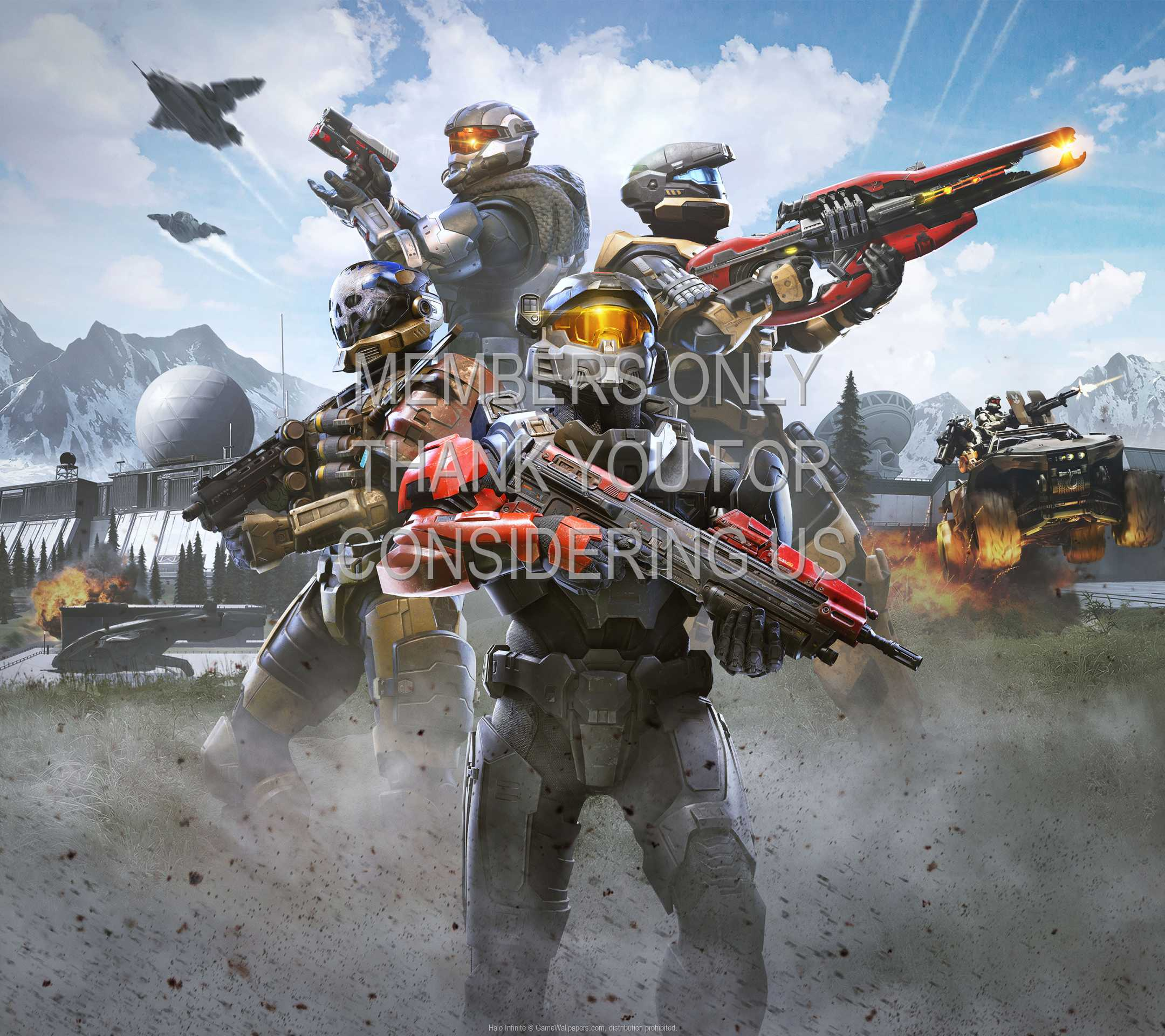 Halo: Infinite 1080p Horizontal Mobile fond d'écran 11