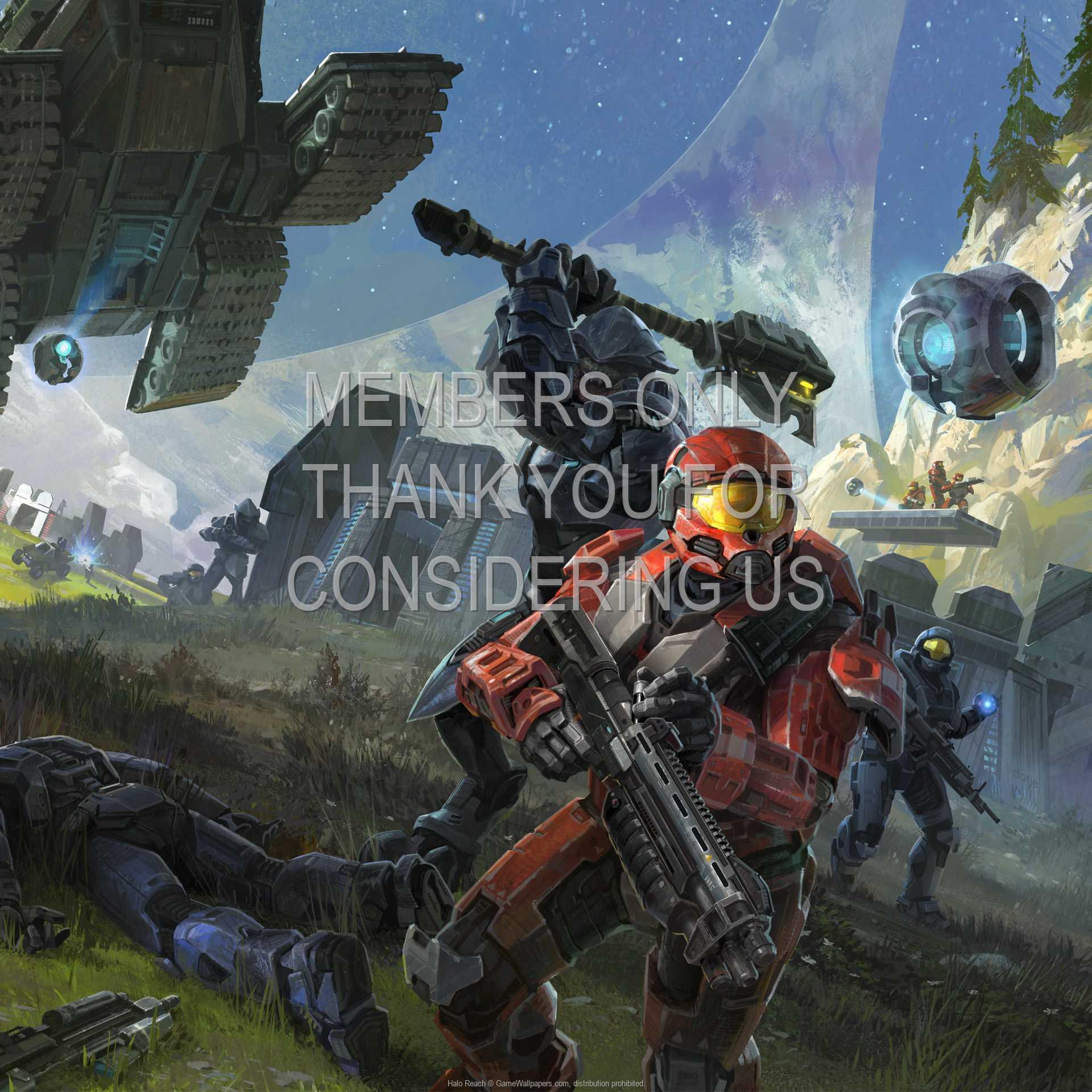 Halo: Reach 1080p Horizontal Handy Hintergrundbild 05